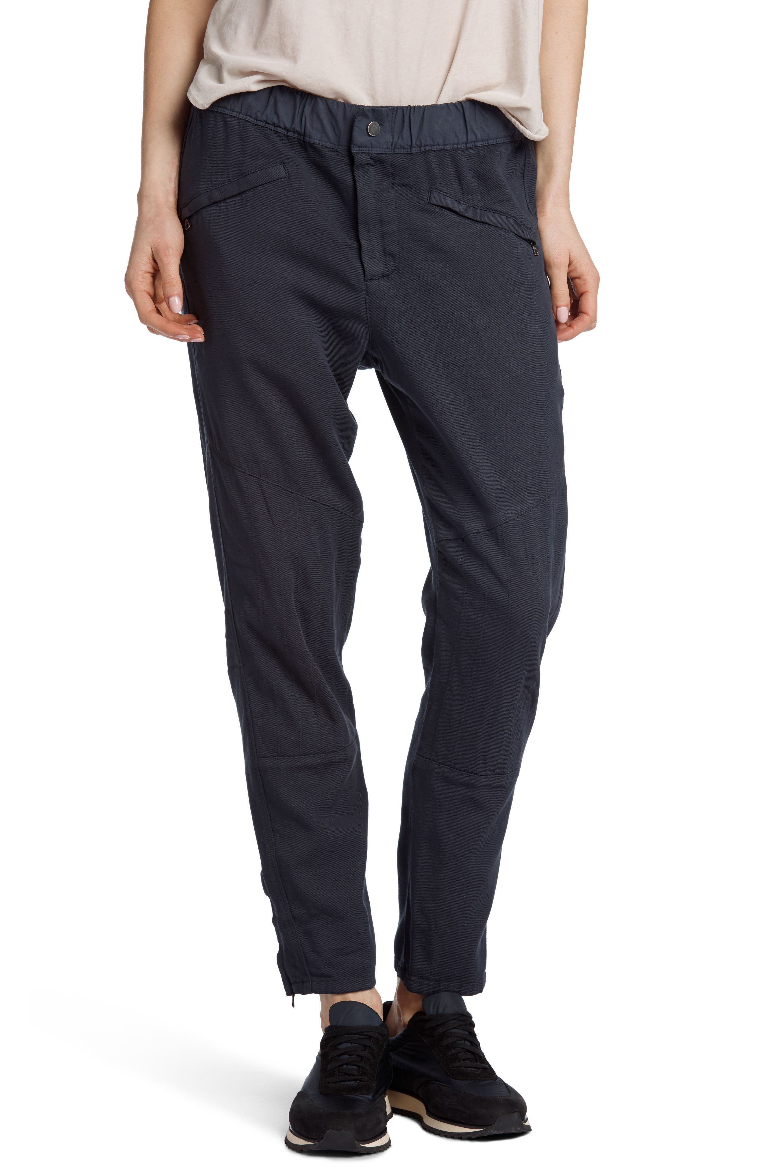 Easy Biker Pants,                         Main,                         color, Mine