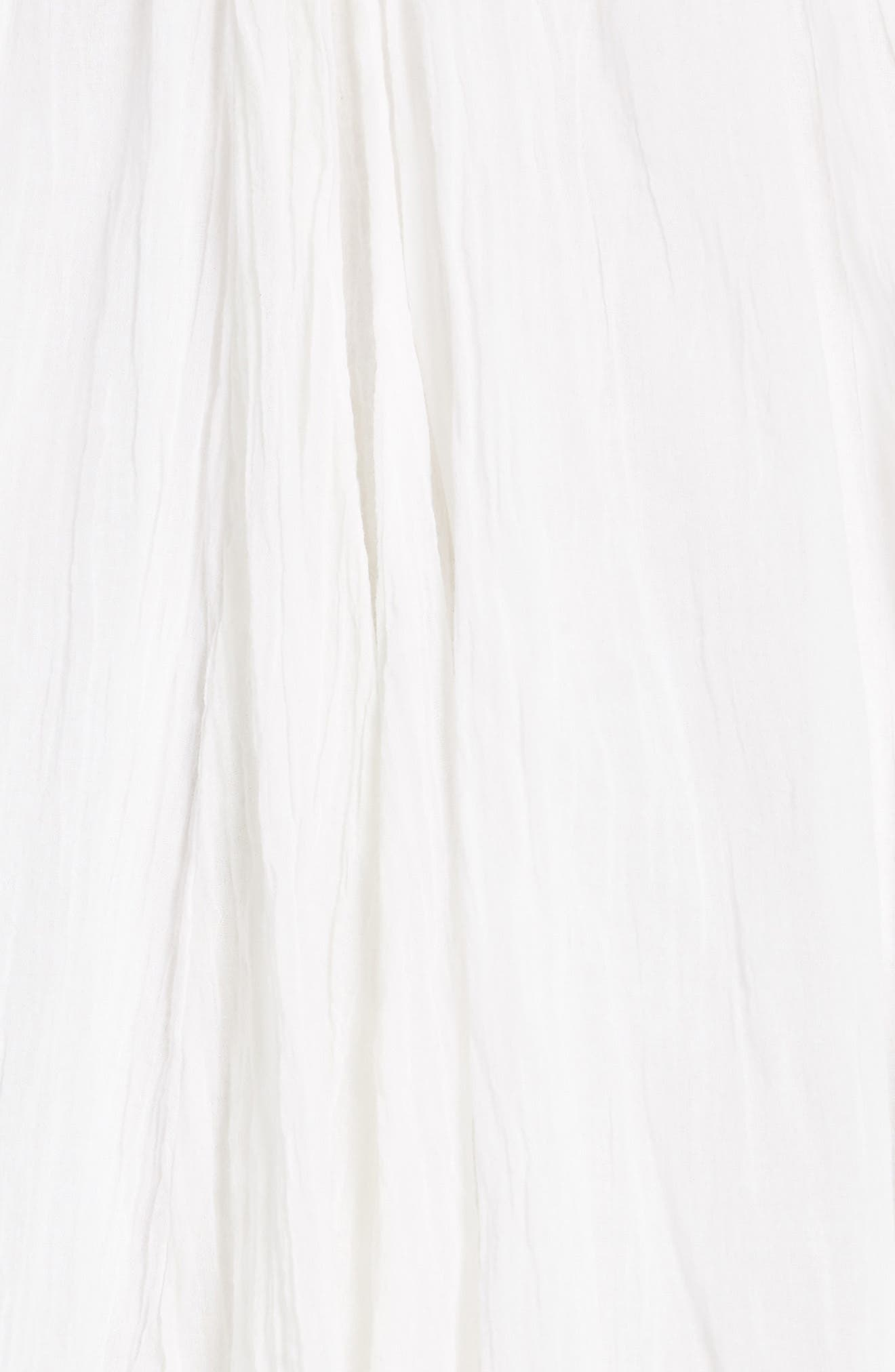 Bella Note Minidress,                             Alternate thumbnail 6, color,                             Ivory