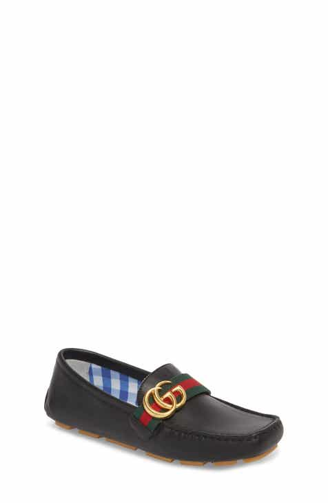 46a48e3dd0ac Gucci Noel Driving Loafer (Toddler   Little Kid)
