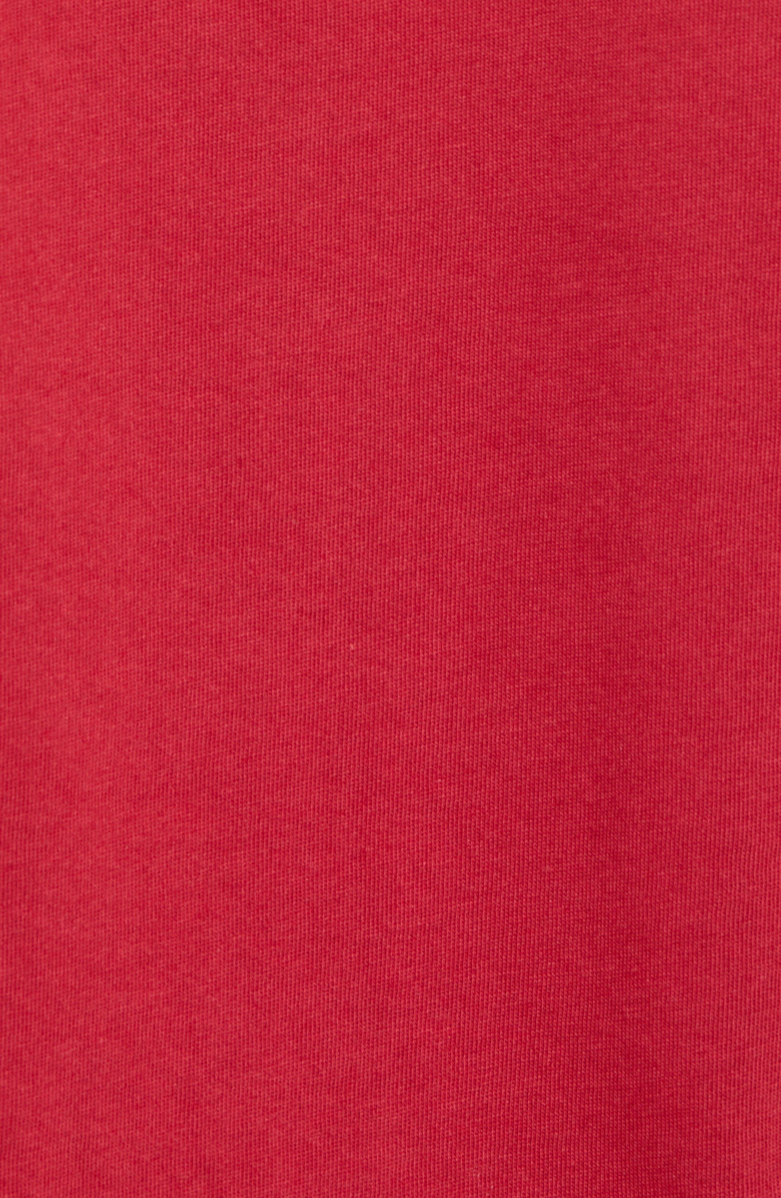 Nike 'SB Logo' T-Shirt,                             Alternate thumbnail 3, color,                             Red Crush White