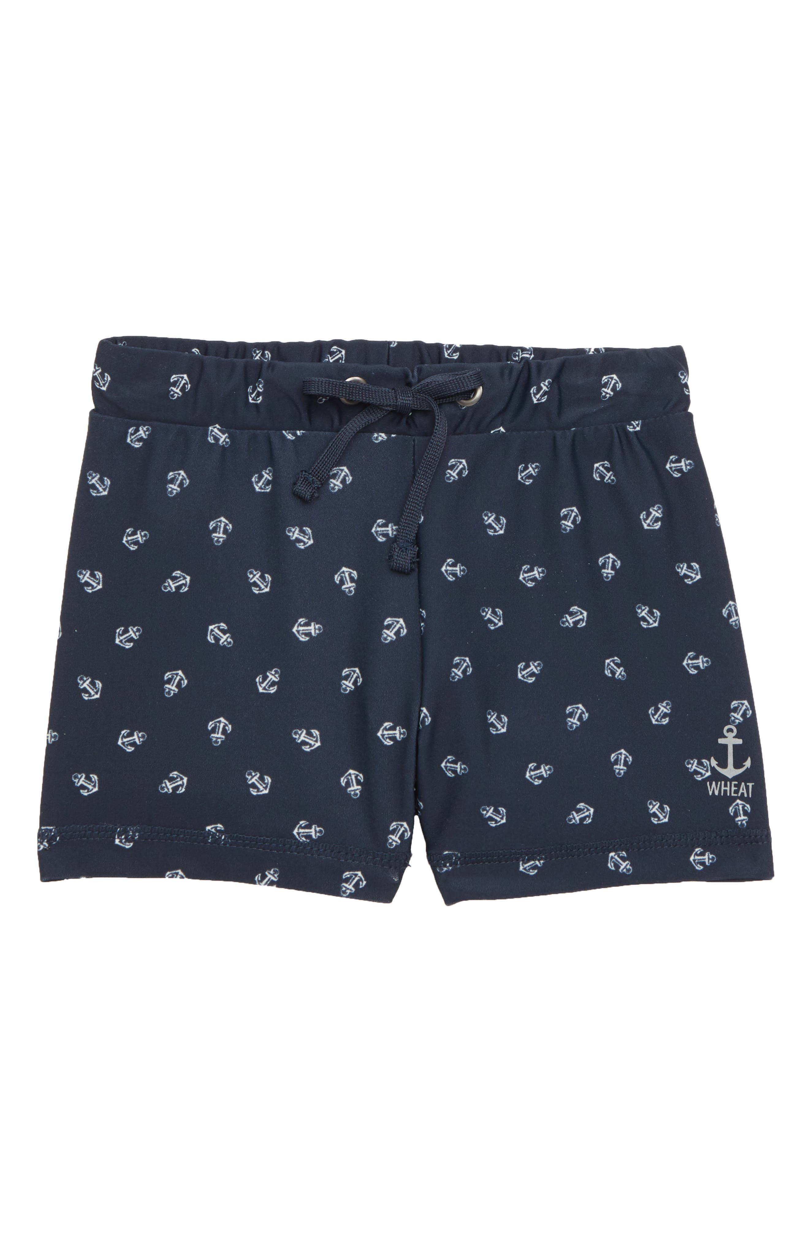 Wheat Eli Swim Trunks (Baby Boys & Toddler Boys)