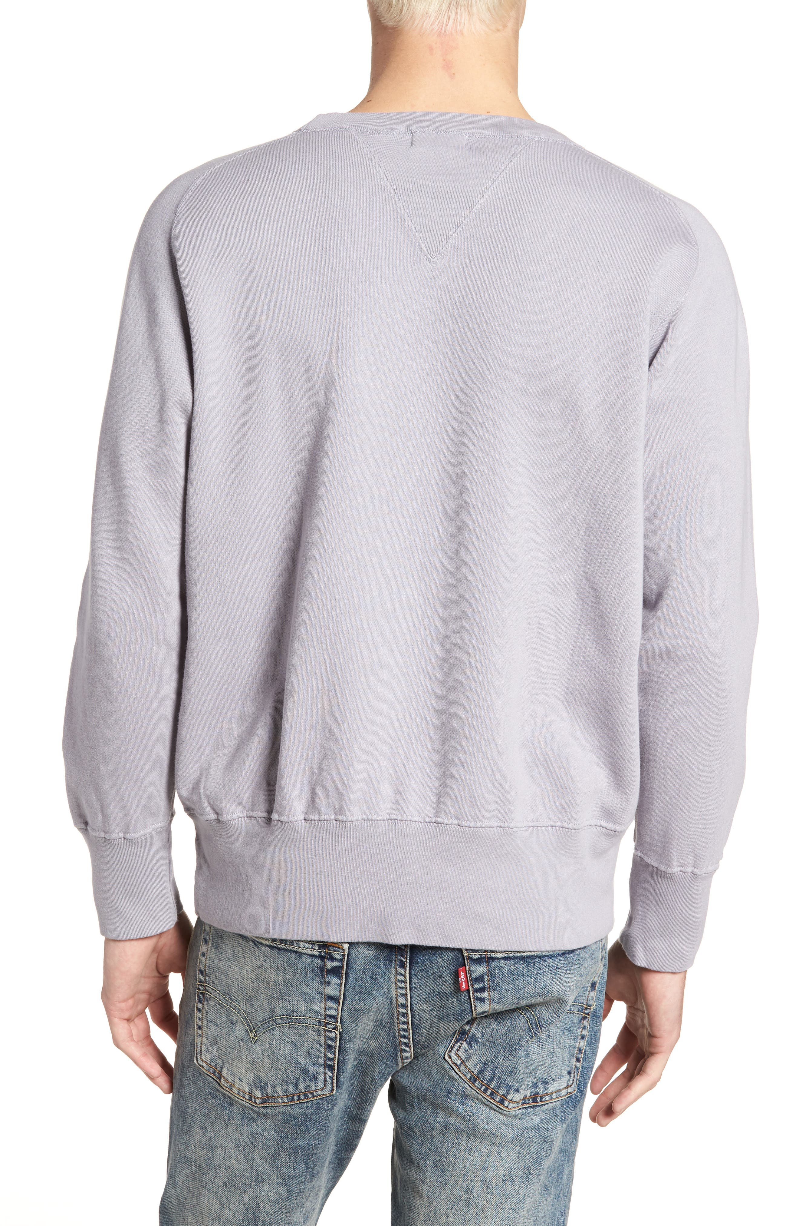Bay Meadows Sweatshirt,                             Alternate thumbnail 2, color,                             Quiksilver