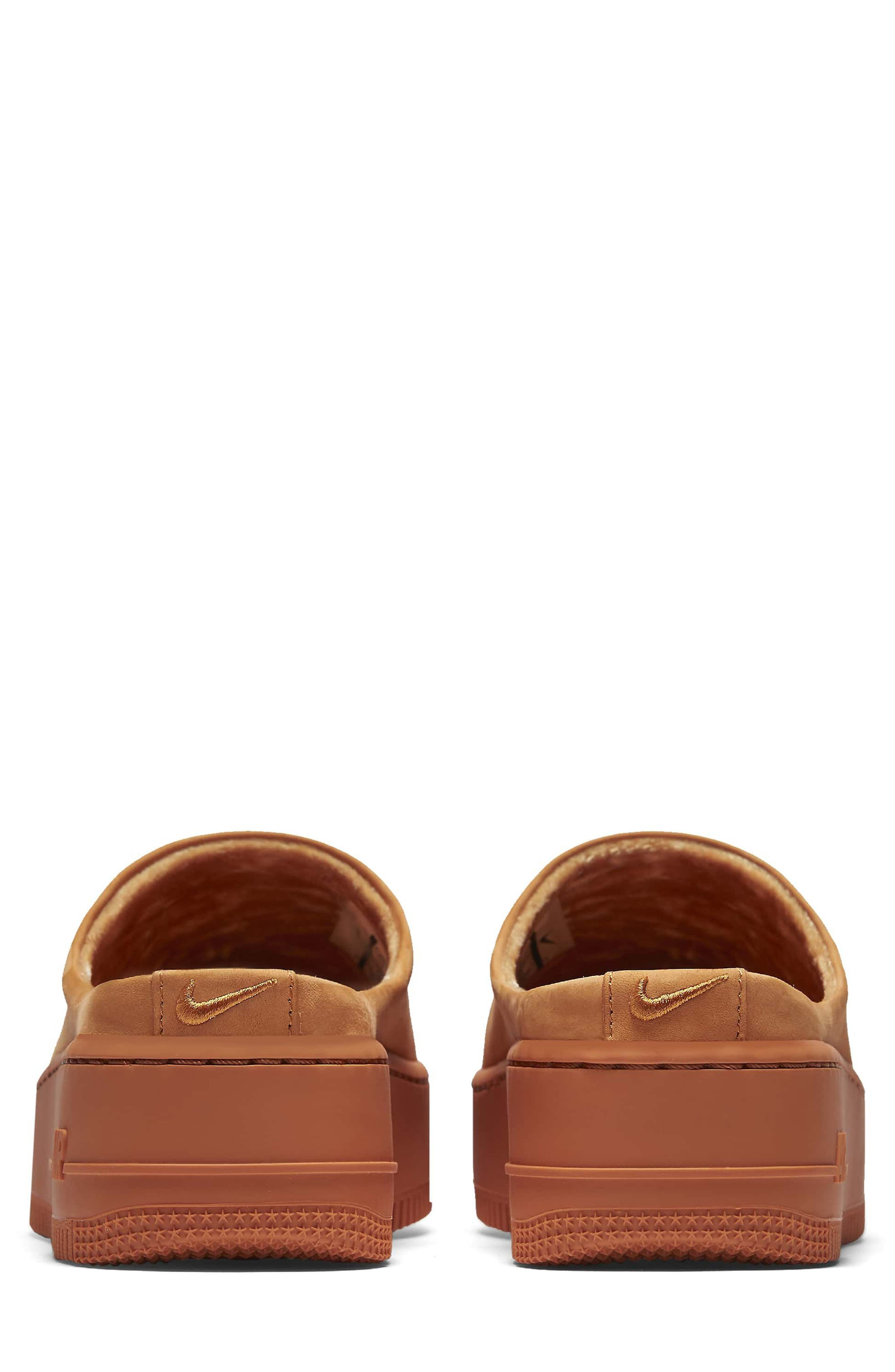 Air Force 1 Lover XX Slip-On Mule Sneaker,                             Alternate thumbnail 2, color,                             Cinder Orange