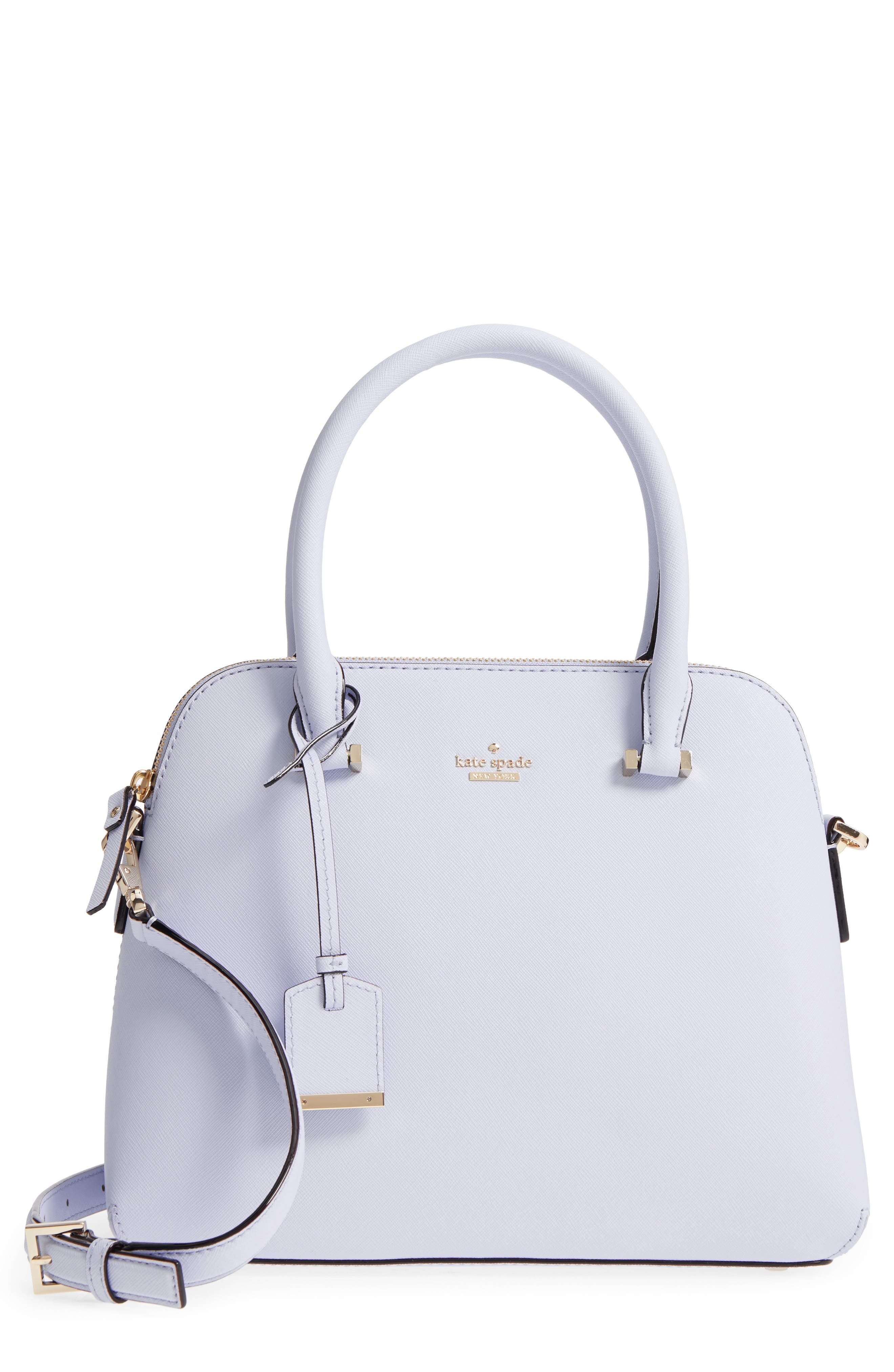 cameron street maise leather satchel,                         Main,                         color, Morning Dawn