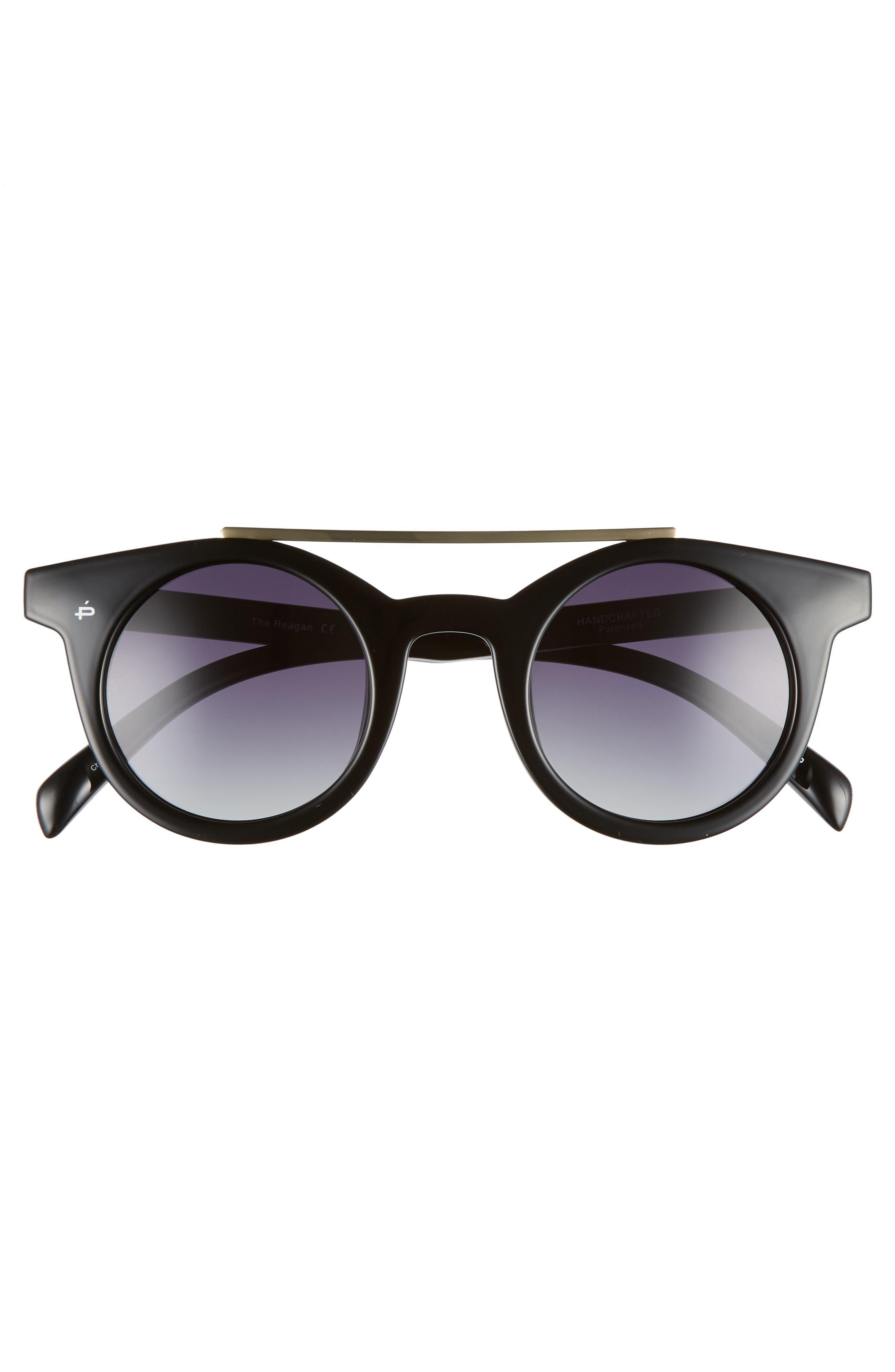 Alternate Image 4  - Privé Revaux The Reagan 43mm Polarized Round Sunglasses