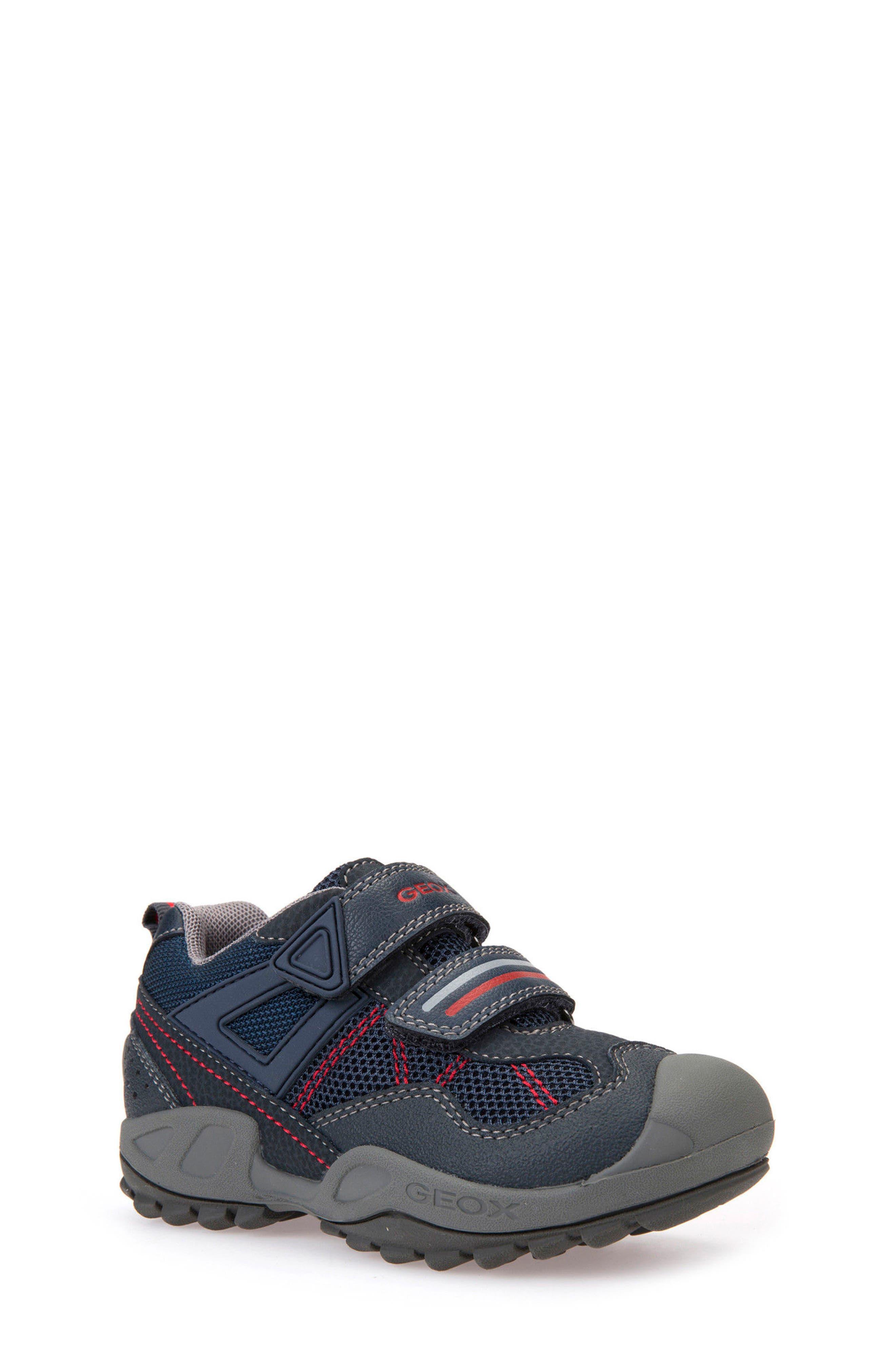 'New Savage' Sneaker,                             Main thumbnail 1, color,                             Navy