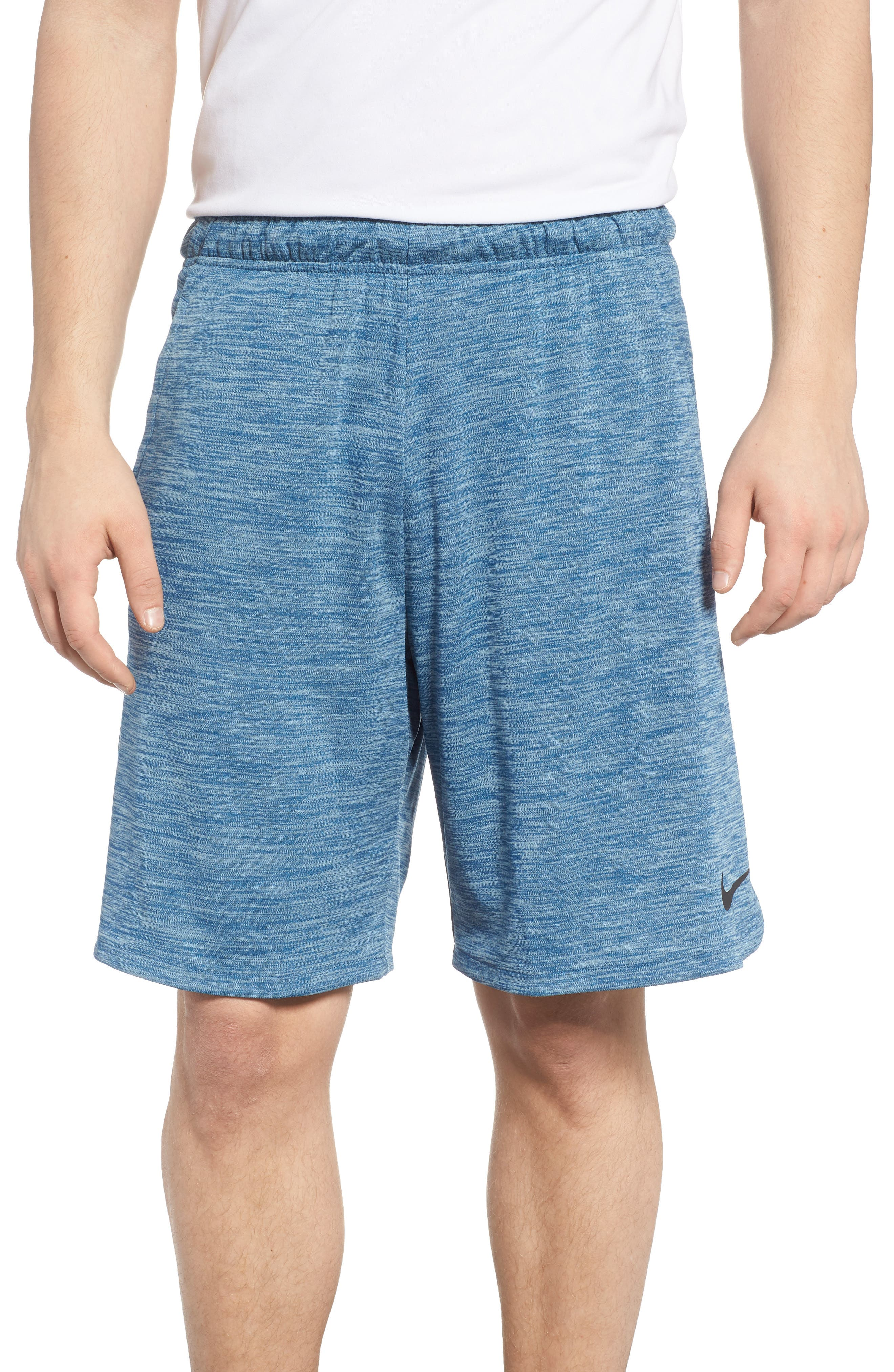 Dry Training Shorts,                             Main thumbnail 1, color,                             Blue Force/ Black