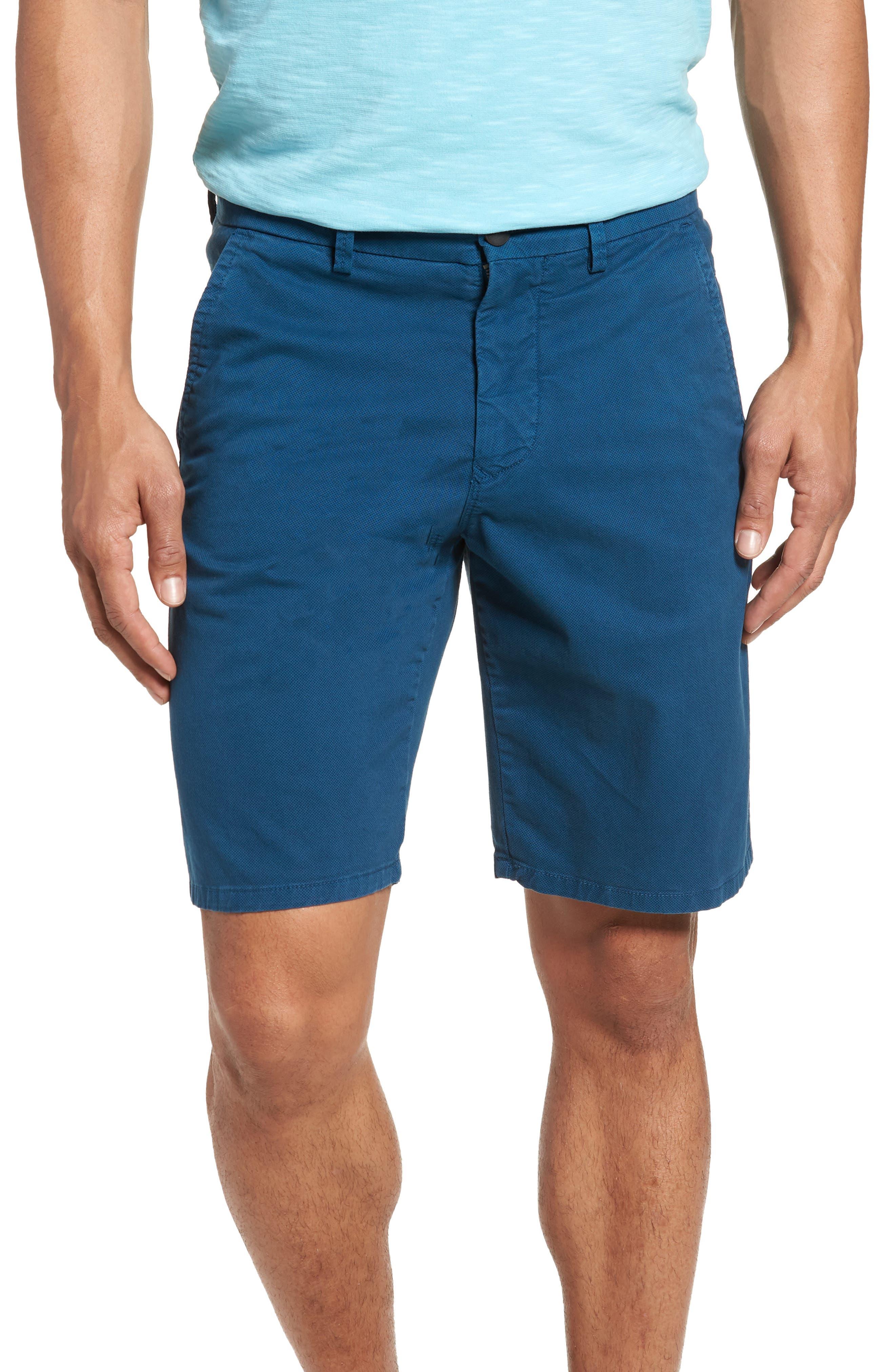 Good Man Brand Wrap Microdot Stretch Chino Shorts