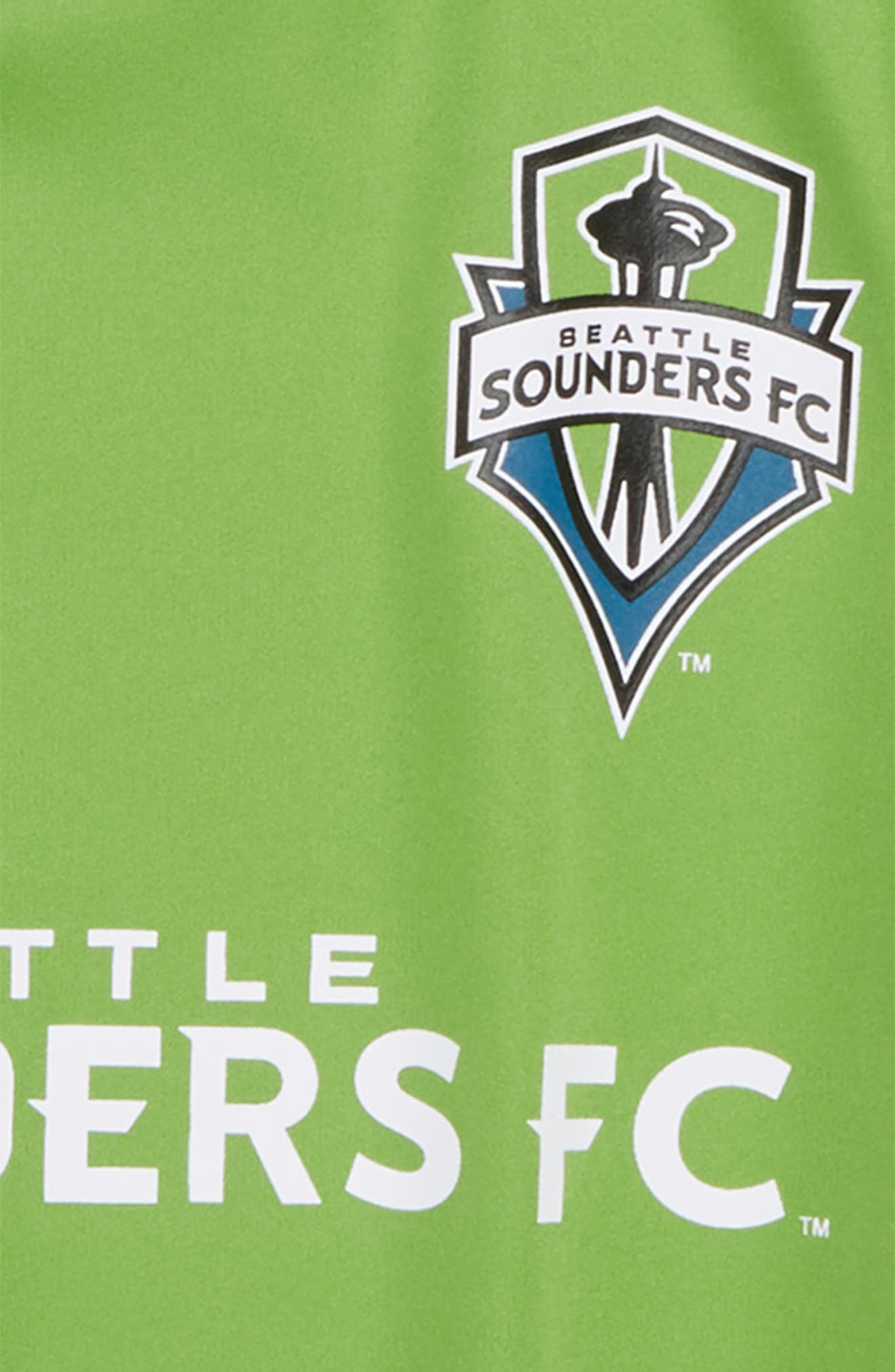MLS Seattle Sounders FC Primary Logo Graphic T-Shirt,                             Alternate thumbnail 2, color,                             Rave Green