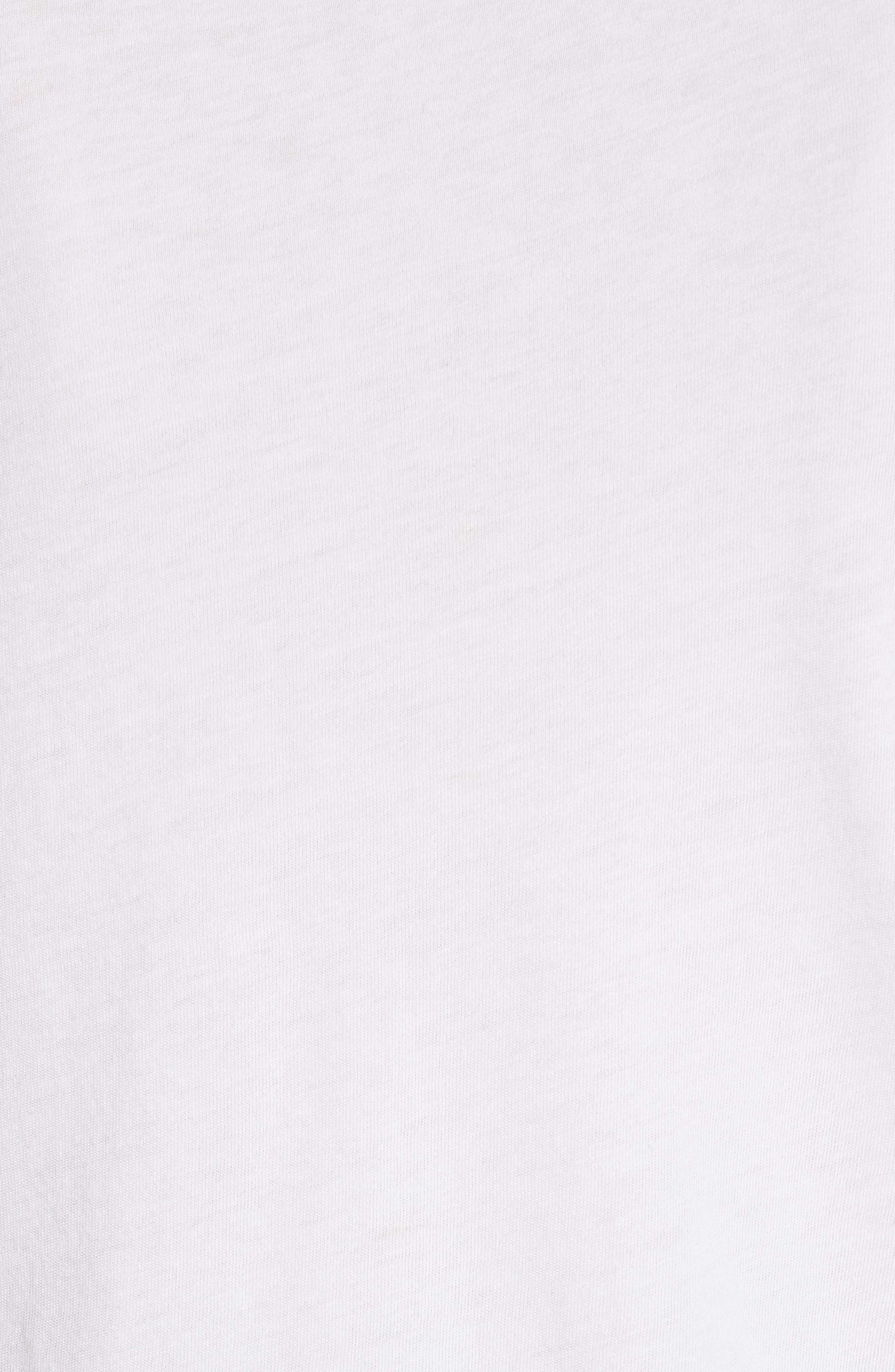 AO.LA Cicely Graphic Tee,                             Alternate thumbnail 4, color,                             White / Black