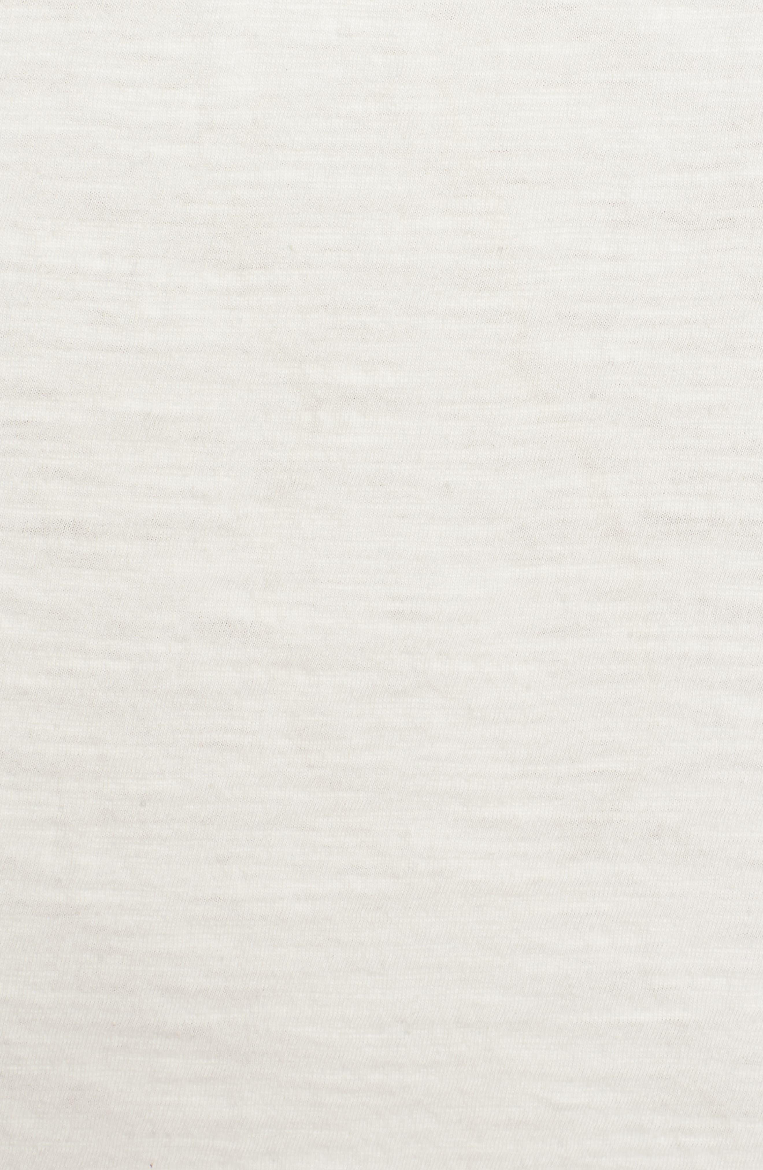 Aguila Lace Up Dress,                             Alternate thumbnail 6, color,                             Marshmallow
