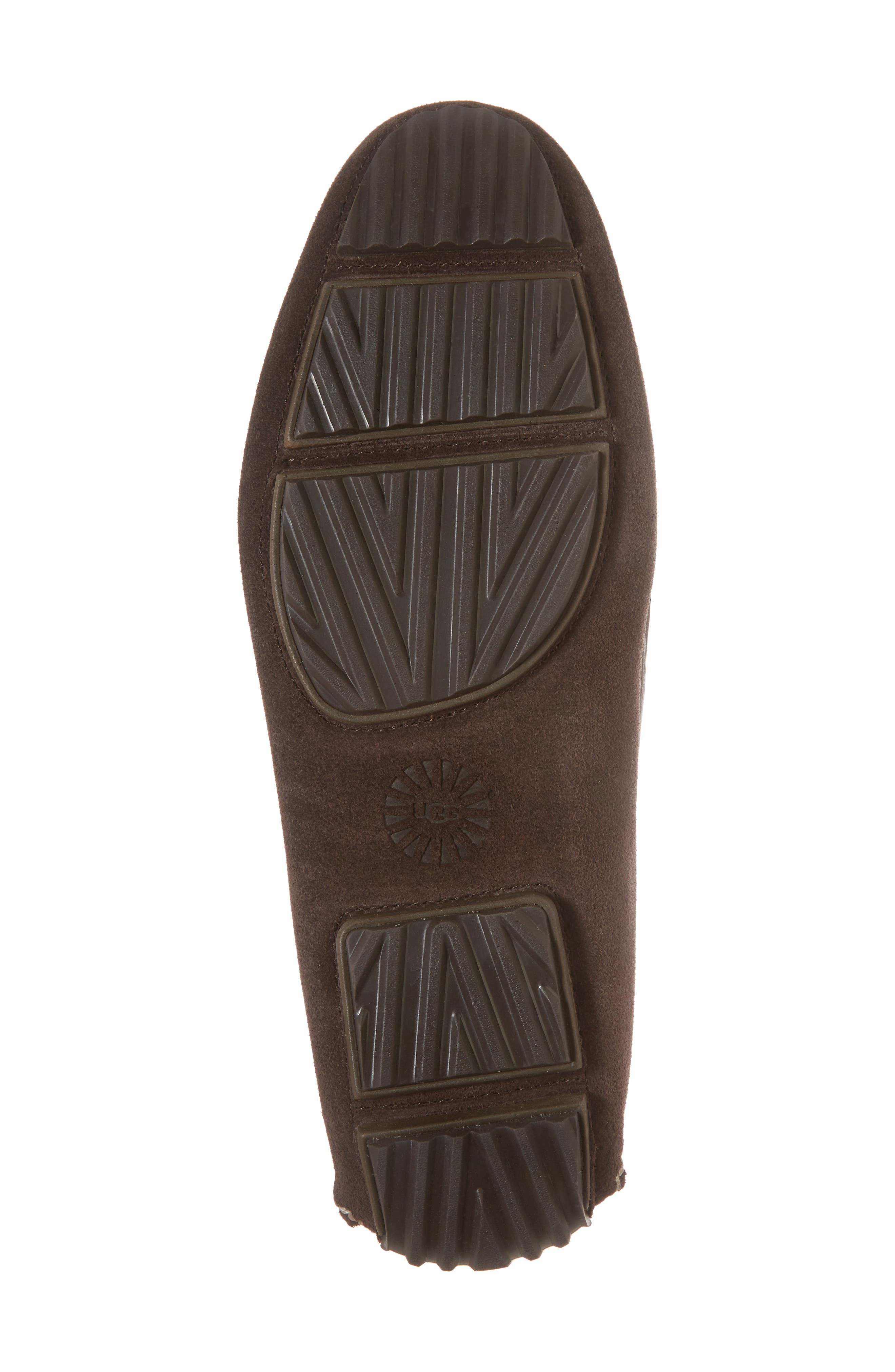 Bel-Air Driving Moccasin,                             Alternate thumbnail 6, color,                             Stout Leather