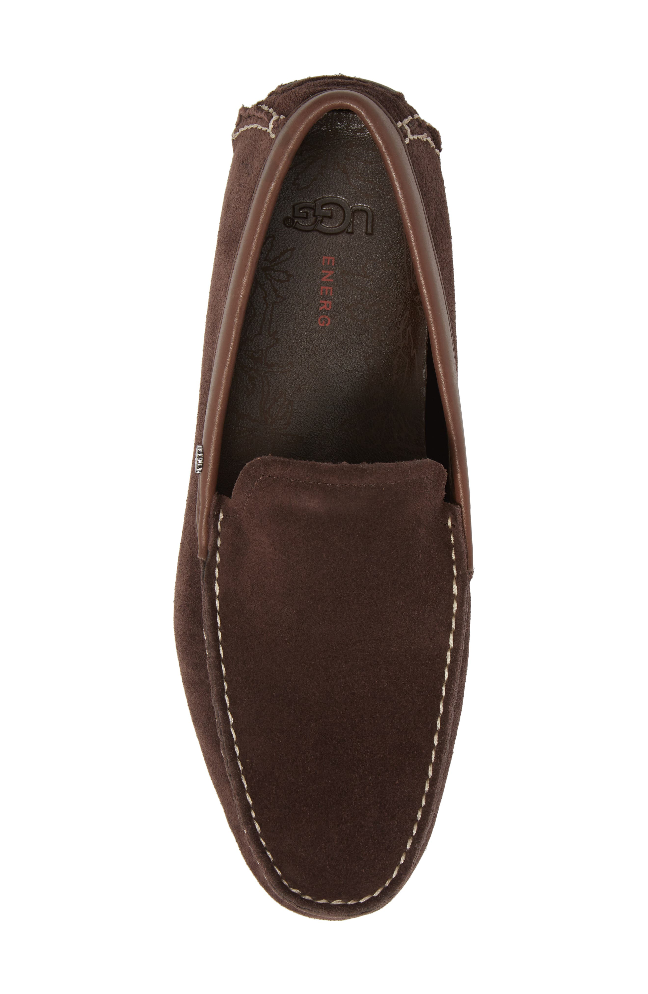 Bel-Air Driving Moccasin,                             Alternate thumbnail 5, color,                             Stout Leather