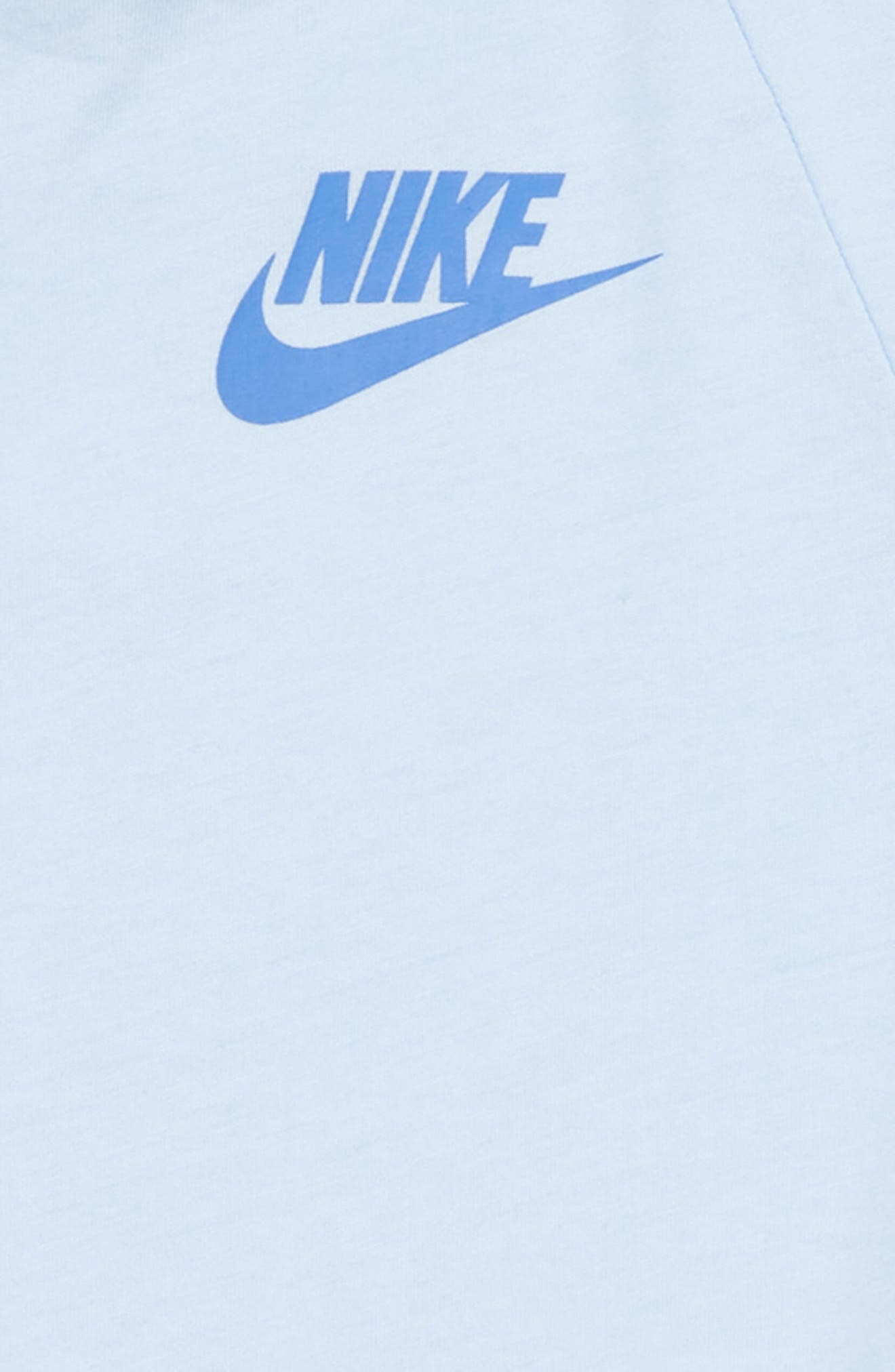 Sportswear Tee,                             Alternate thumbnail 2, color,                             Royal Tint/ Light Blue