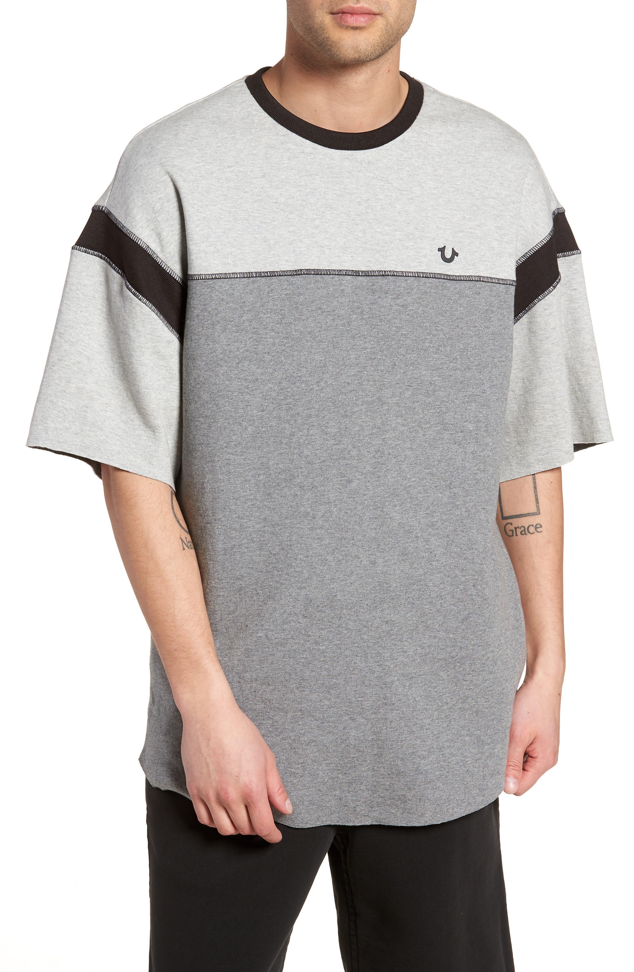 True Religion Brand Jeans Football T-Shirt