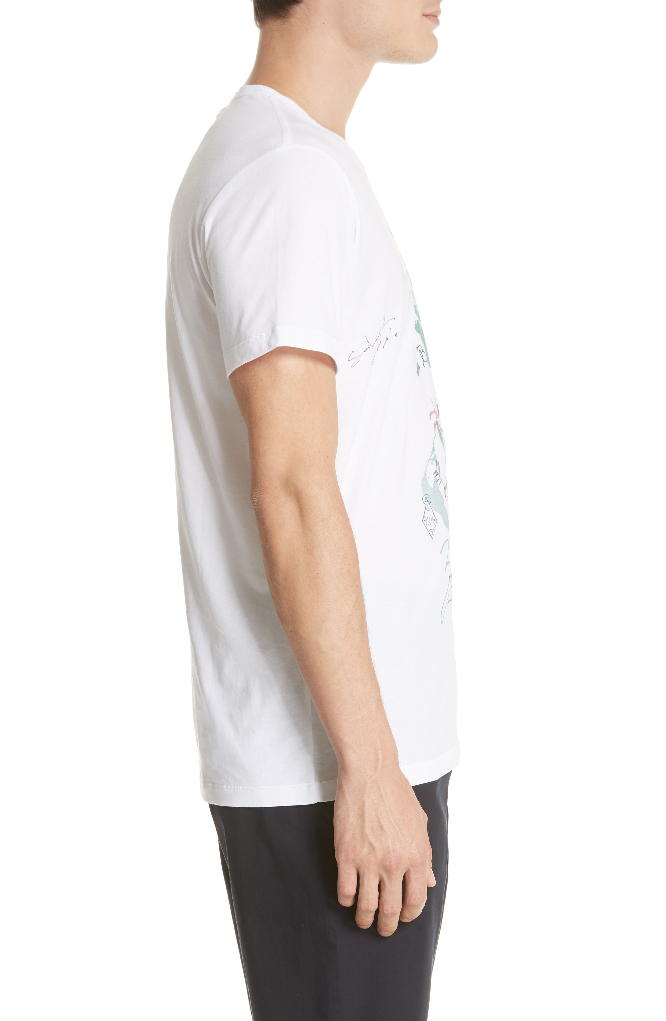 Camberley Abith Graphic T-Shirt,                             Alternate thumbnail 3, color,                             White