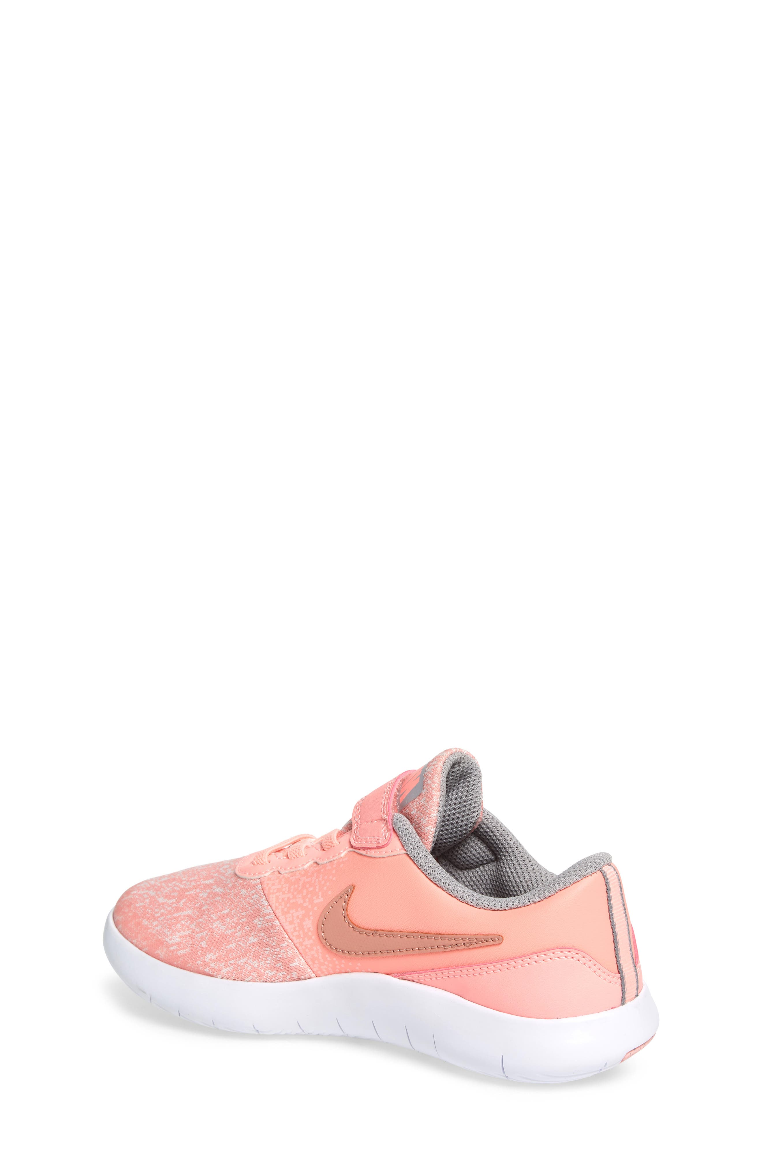 Flex Contact Running Shoe,                             Alternate thumbnail 2, color,                             Rose Gold/ Storm Pink