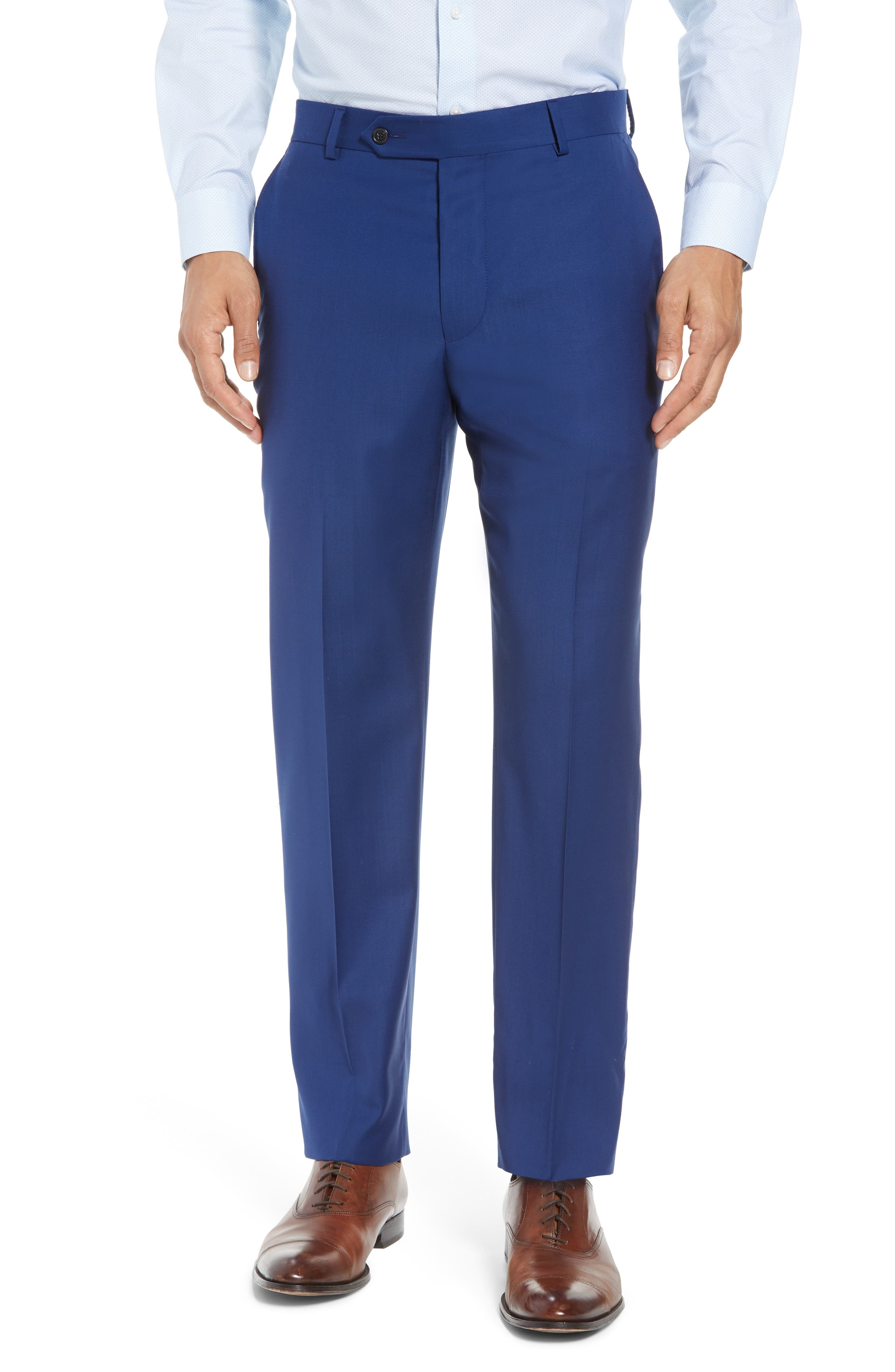 Bennet Classic Fit Solid Wool Suit,                             Alternate thumbnail 6, color,                             High Blue