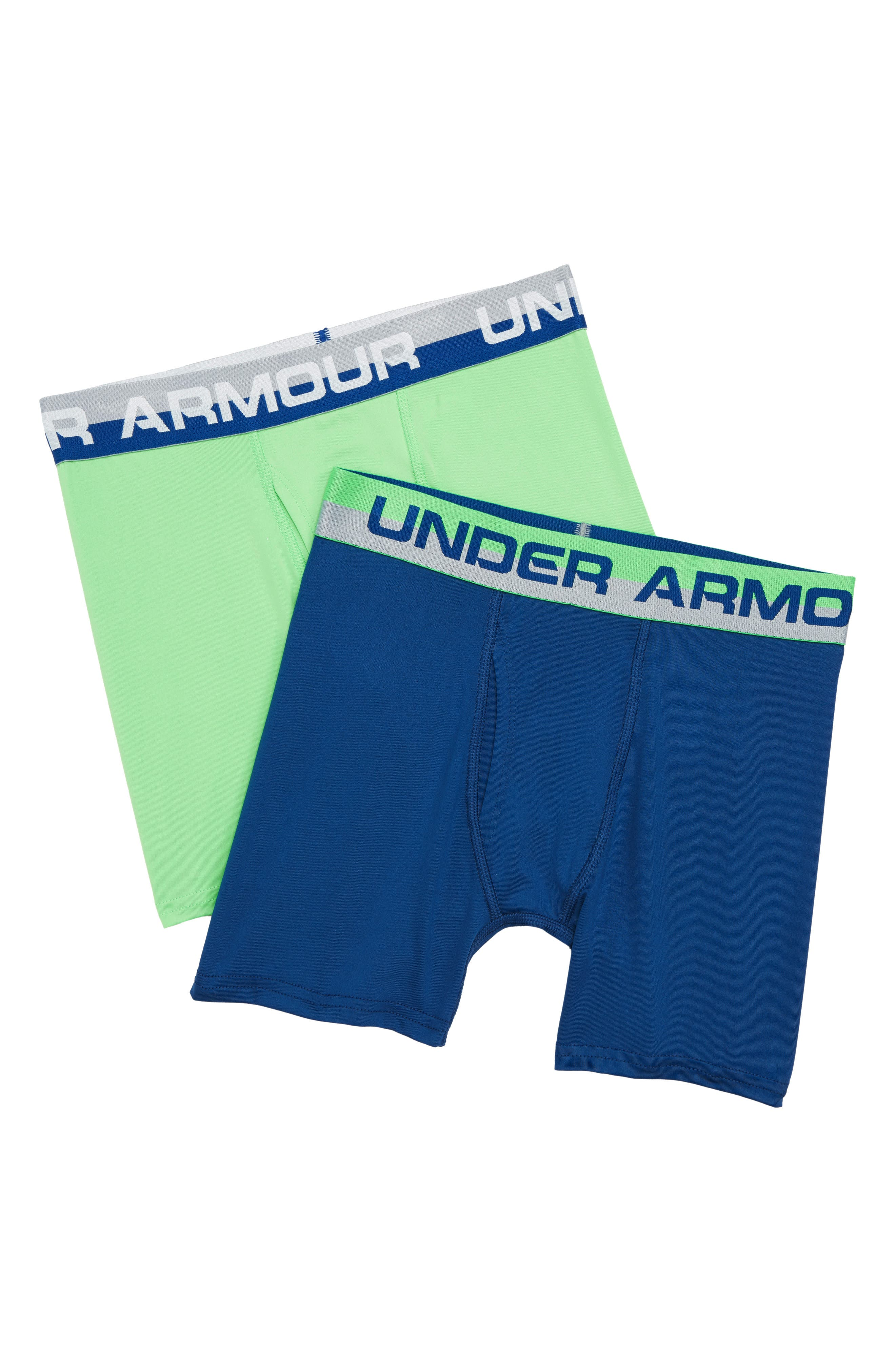 Assorted 2-Pack Performance Boxer Briefs,                             Main thumbnail 1, color,                             Arena Green