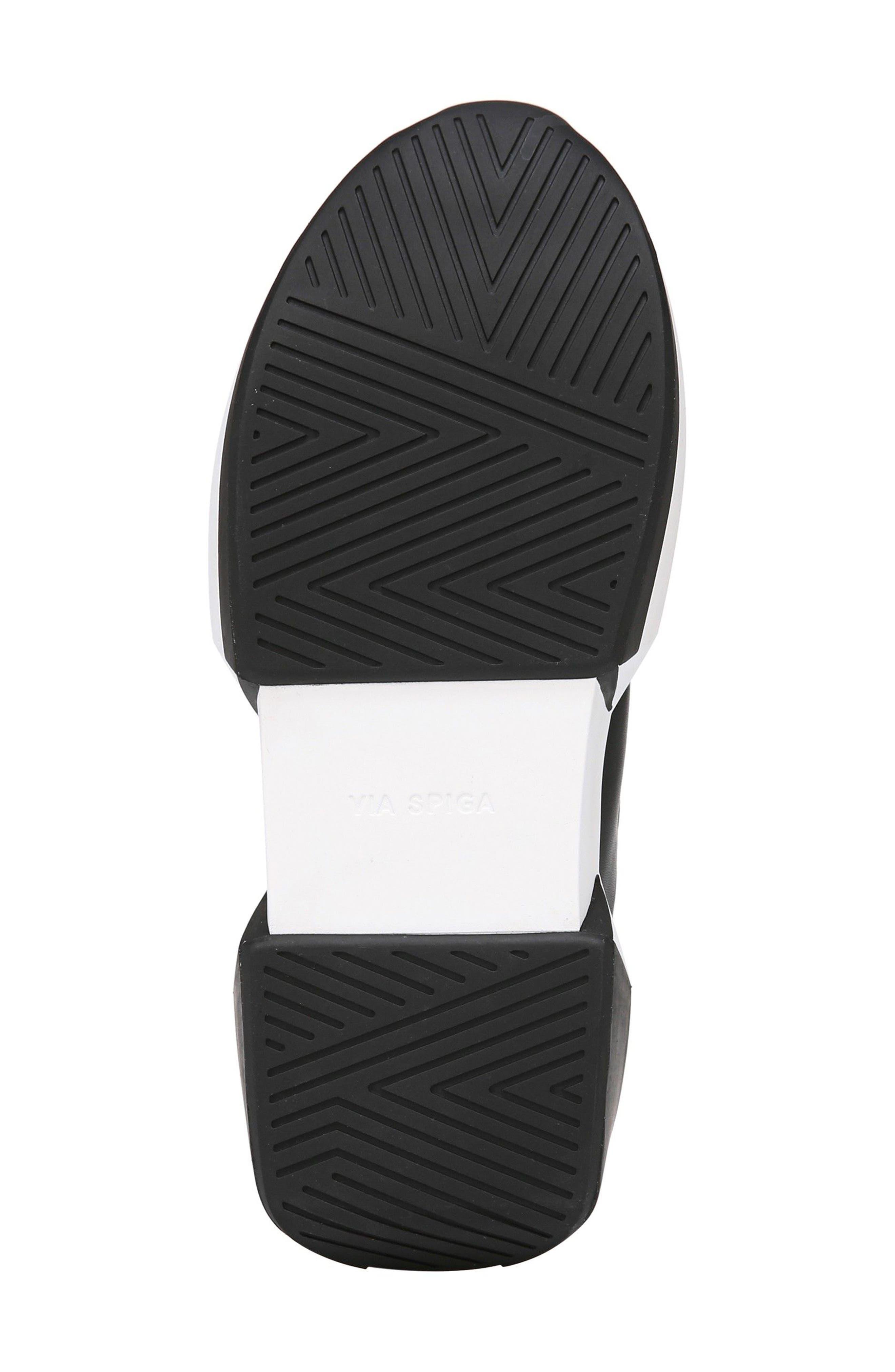 Veila Slip-On Sneaker,                             Alternate thumbnail 6, color,                             Black Leather