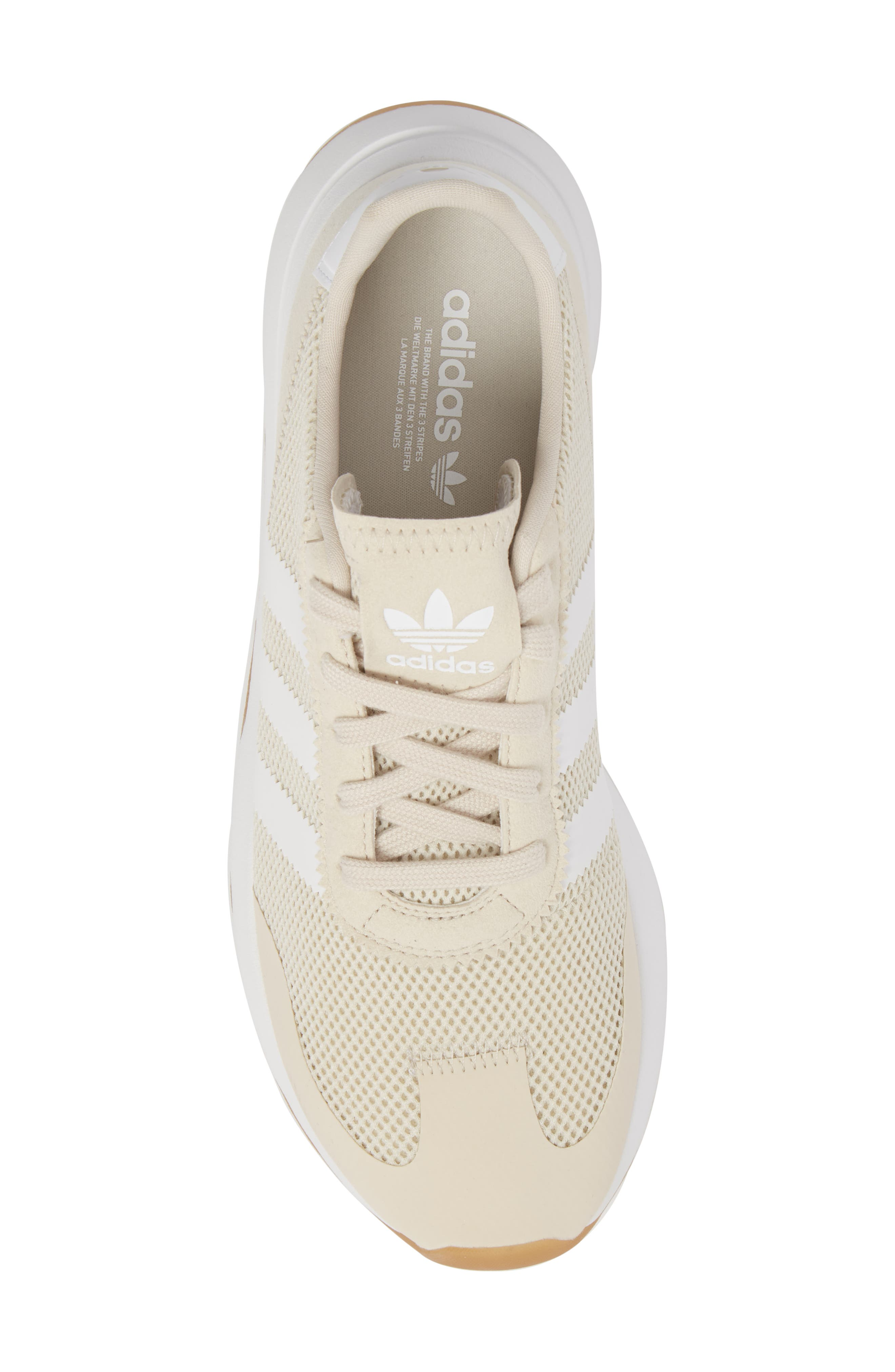 Flashback Sneaker,                             Alternate thumbnail 5, color,                             Clear Brown/ Brown/ White