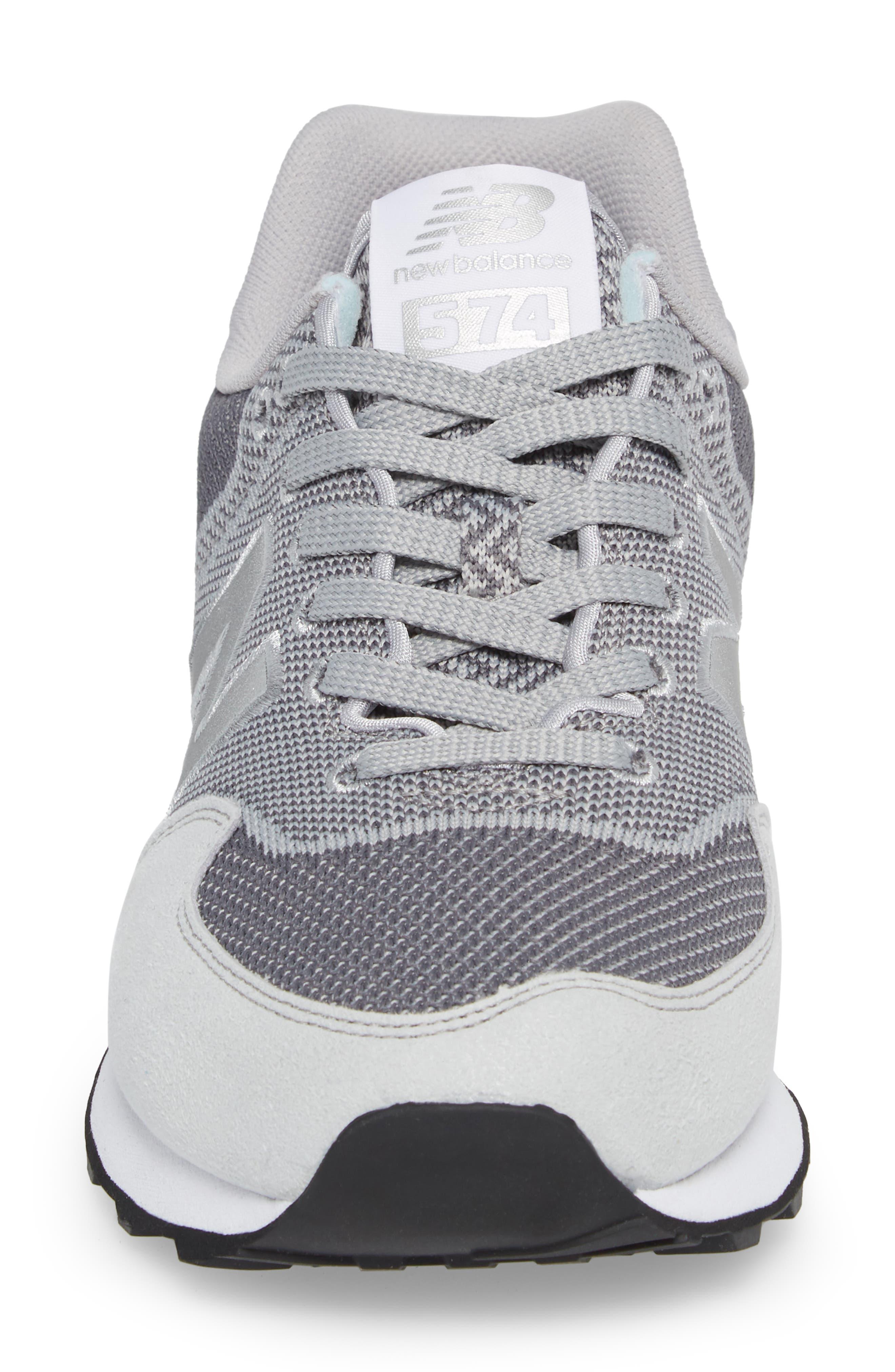 Engineered Mesh Sneaker,                             Alternate thumbnail 4, color,                             Silver Mink
