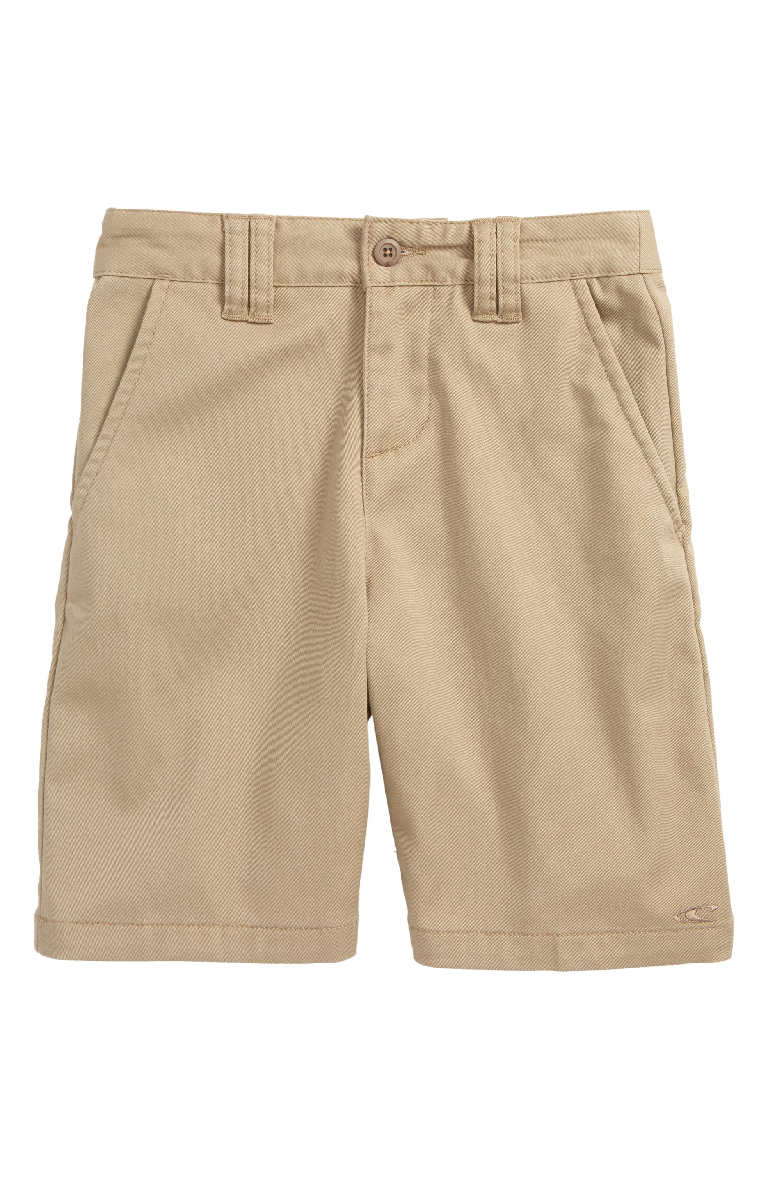 Contact Stretch Shorts,                         Main,                         color, Light Khaki