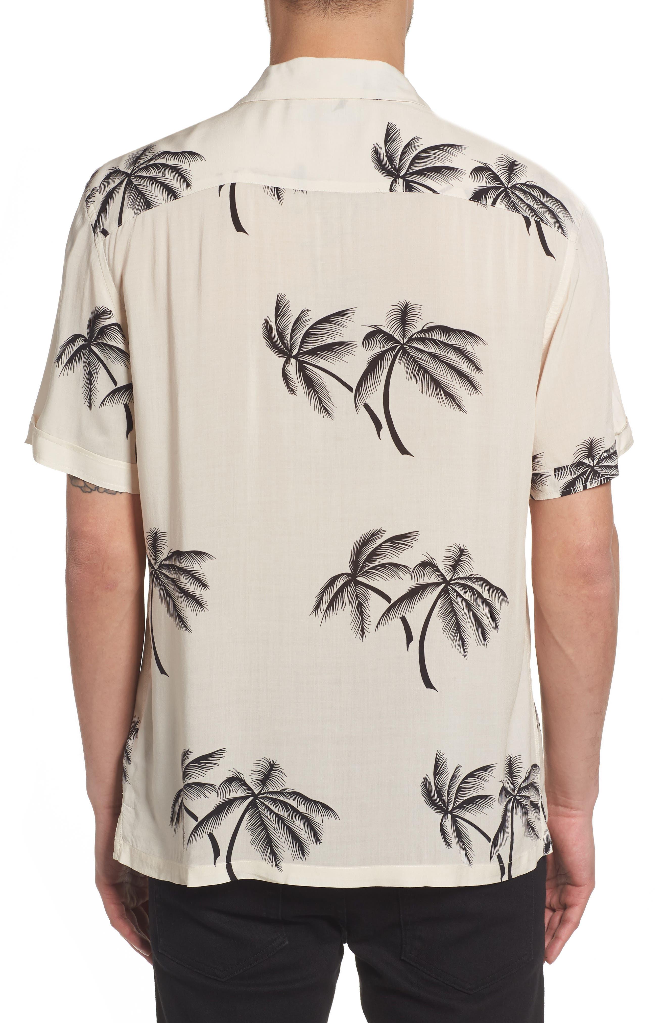 Offshore Regular Fit Short Sleeve Sport Shirt,                             Alternate thumbnail 2, color,                             Ecru