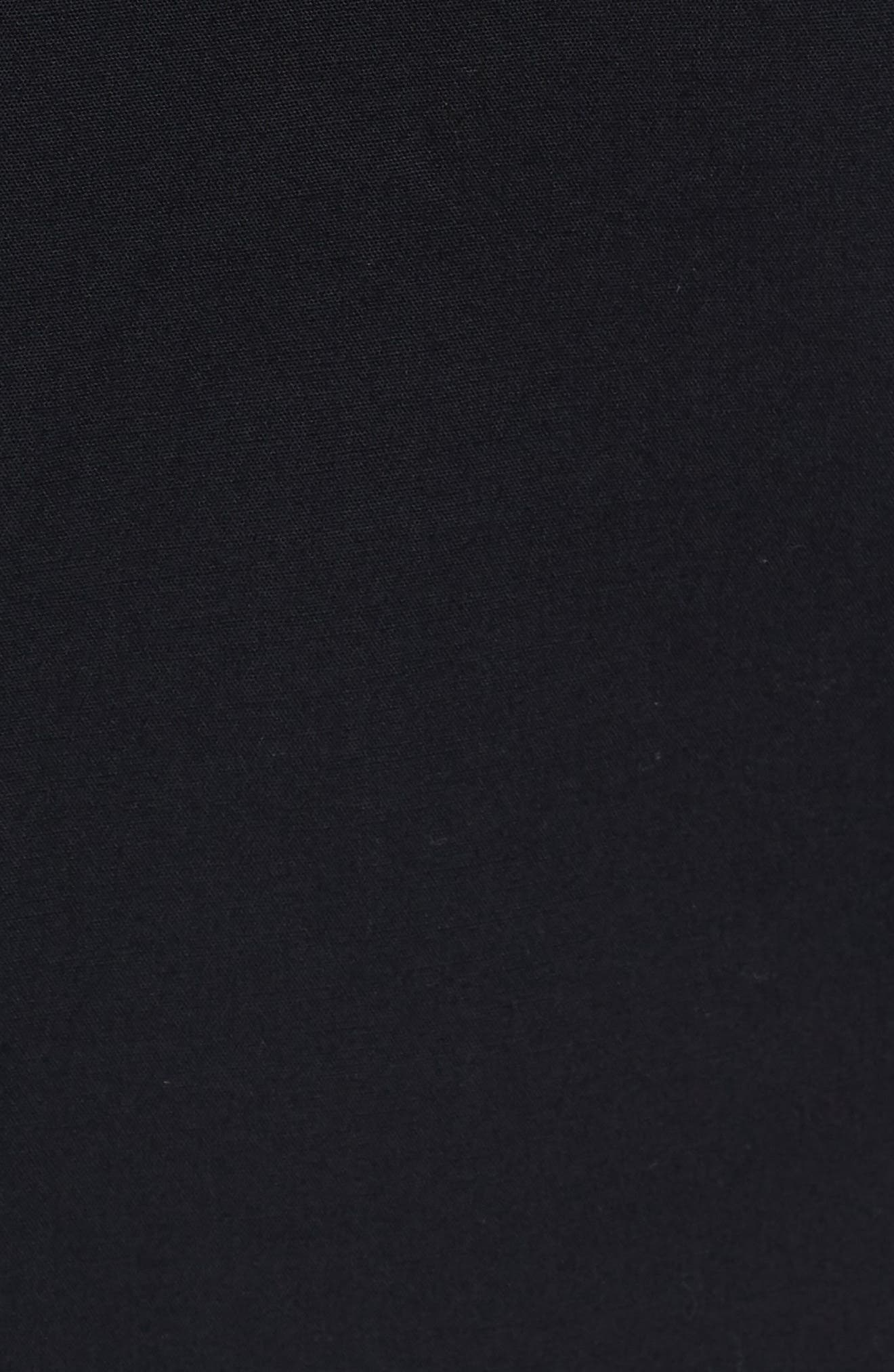 Stretch Skinny Fit Shirt,                             Alternate thumbnail 5, color,                             Black