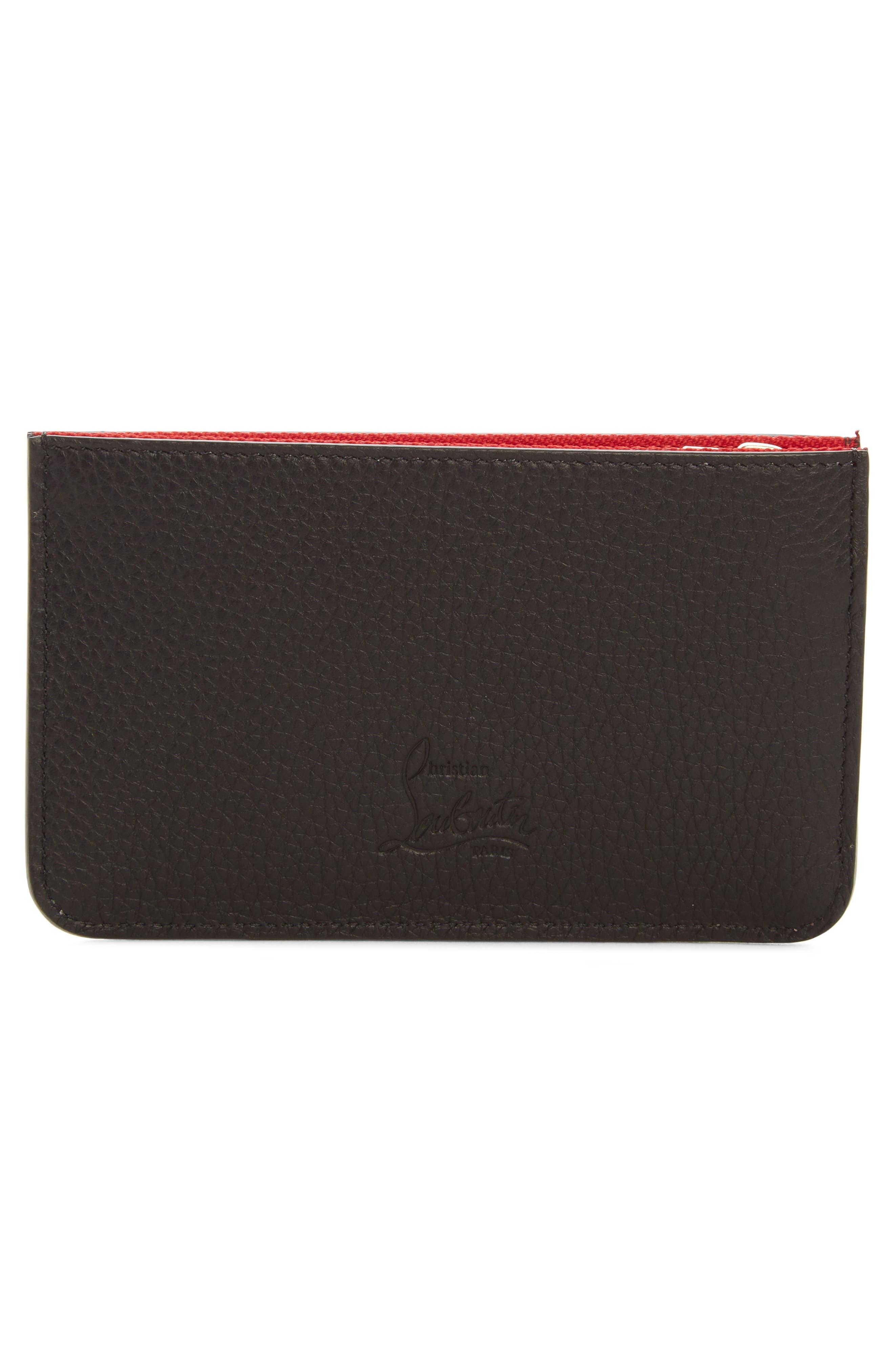 Alternate Image 2  - Christian Louboutin Panettone Studded Leather Key Case