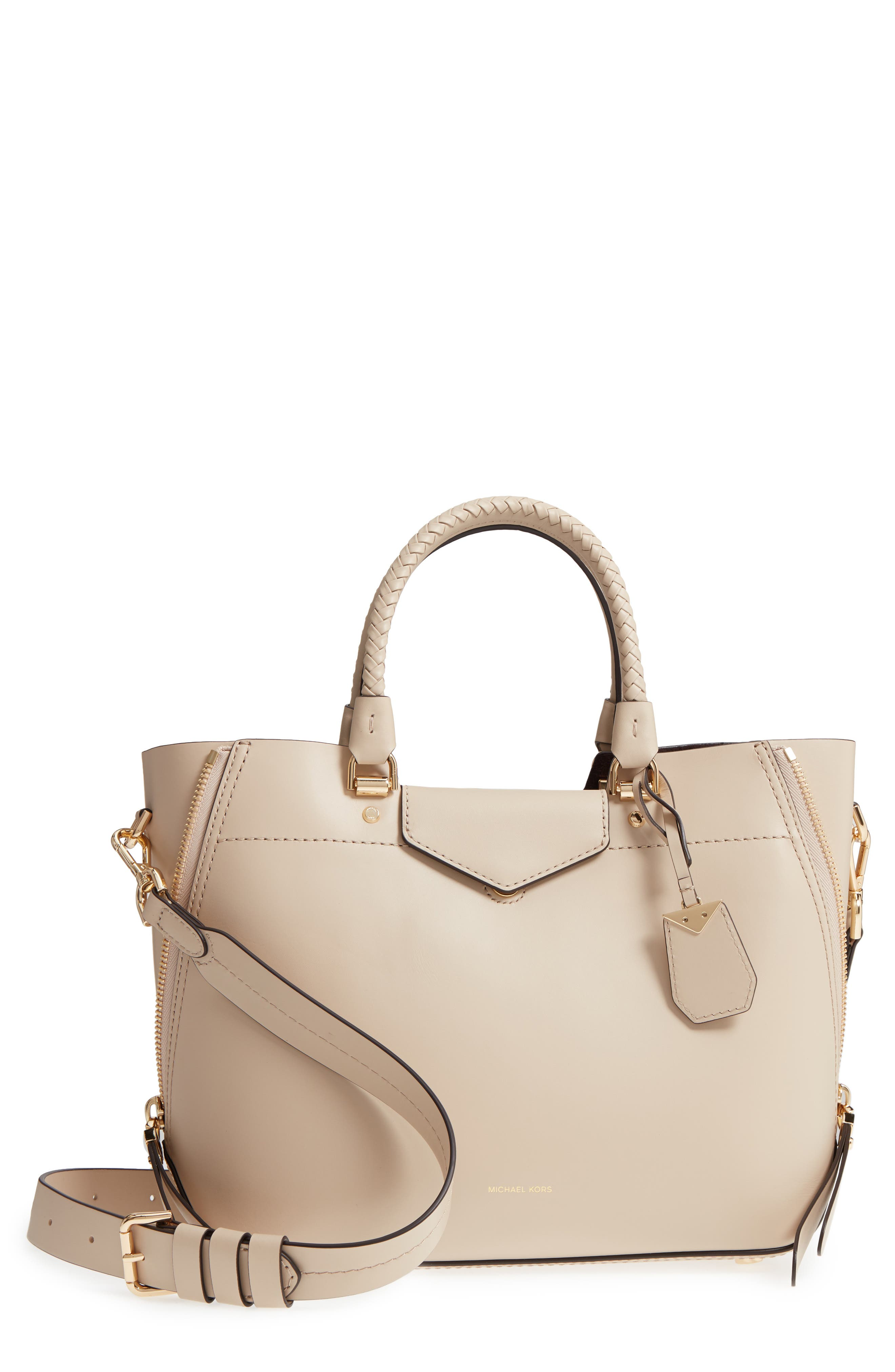 MICHAEL Michael Kors Blakely Leather Satchel