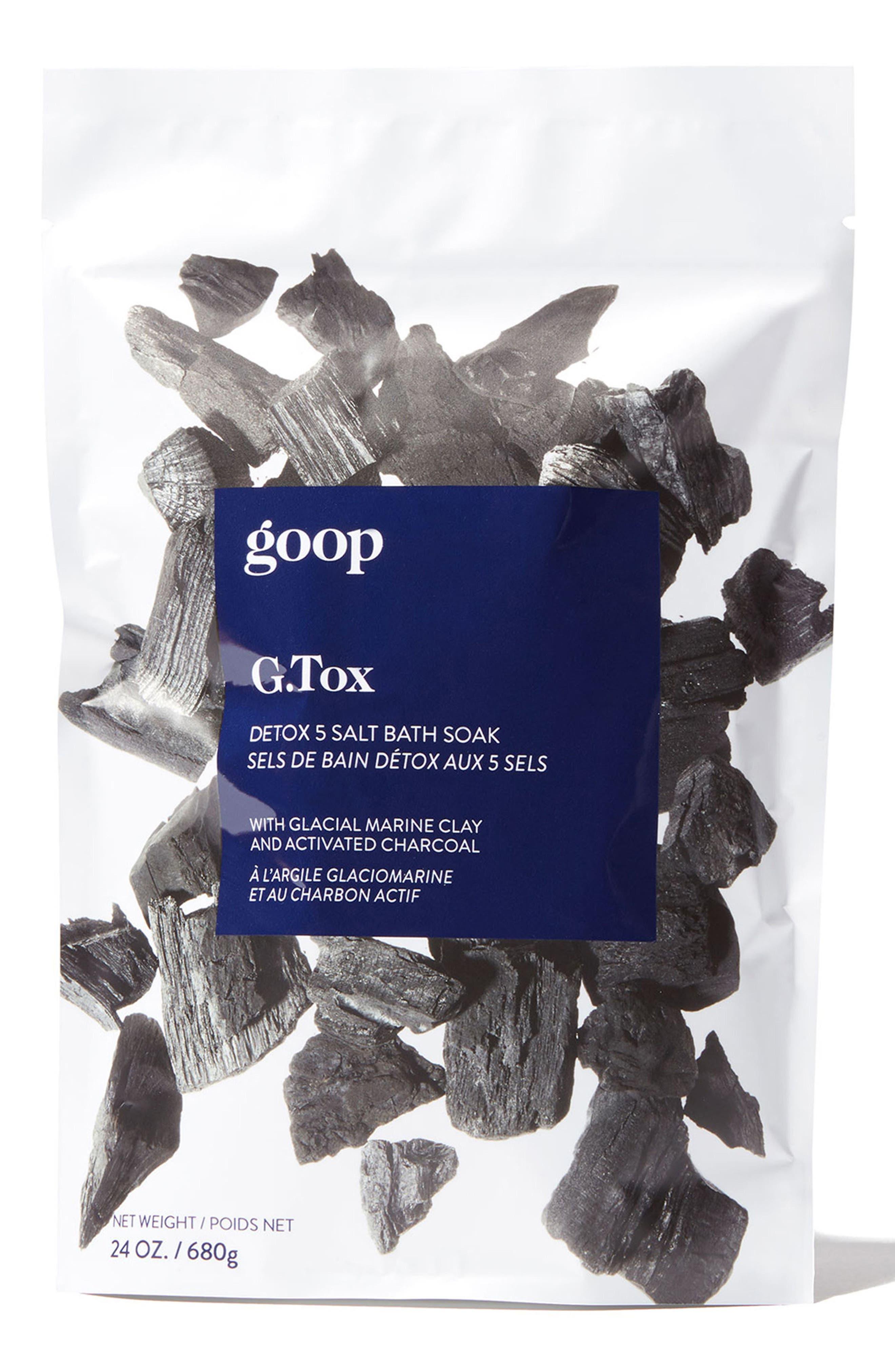 G.Tox 5 Salt Detox Bath Soak,                             Main thumbnail 1, color,                             None