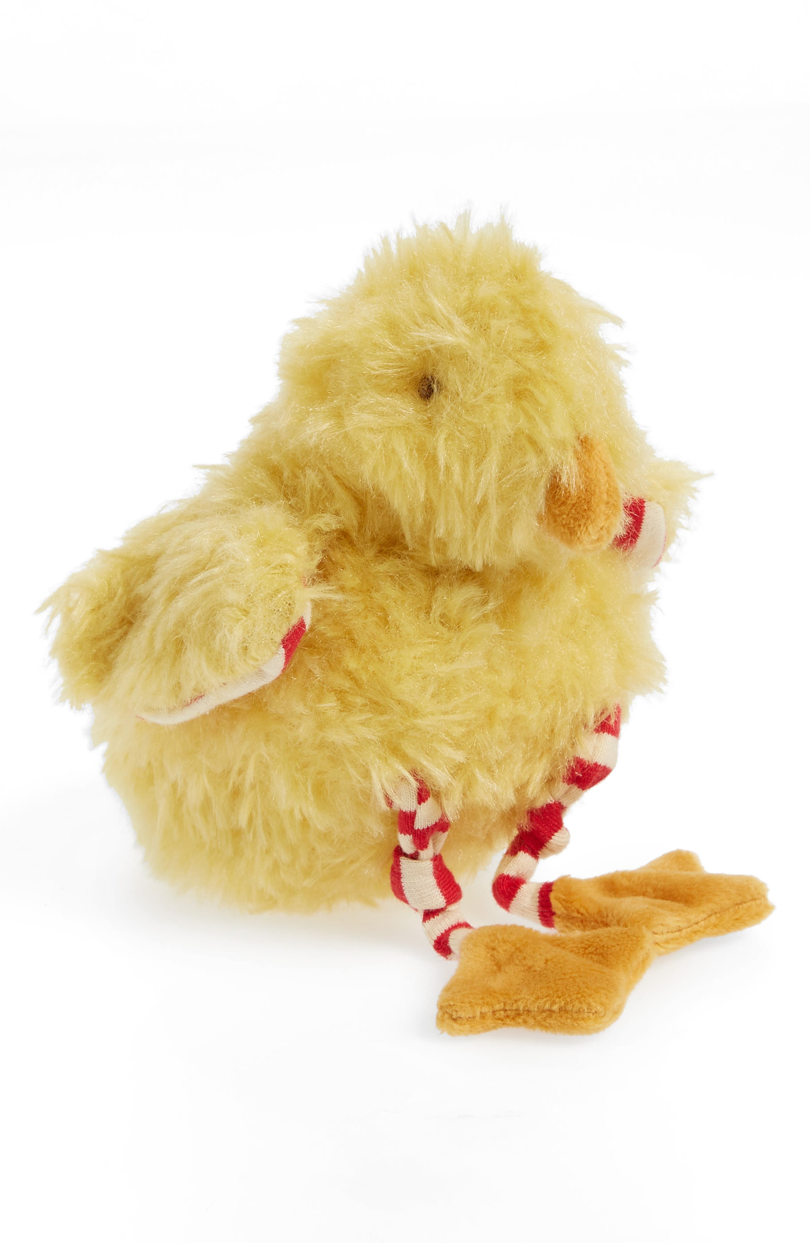Clucky Chick Stuffed Animal,                             Main thumbnail 1, color,                             Mustard Yellow