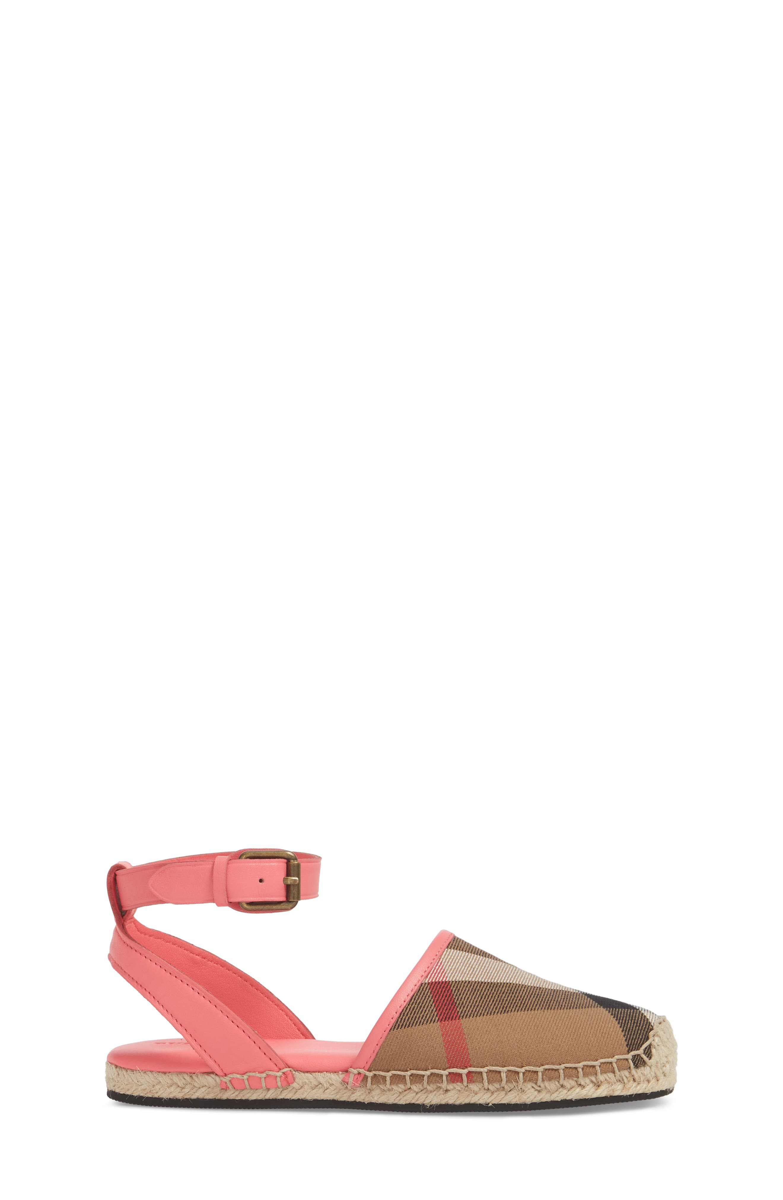 New Perth Espadrille Sandal,                             Alternate thumbnail 3, color,                             Bright Peony Rose