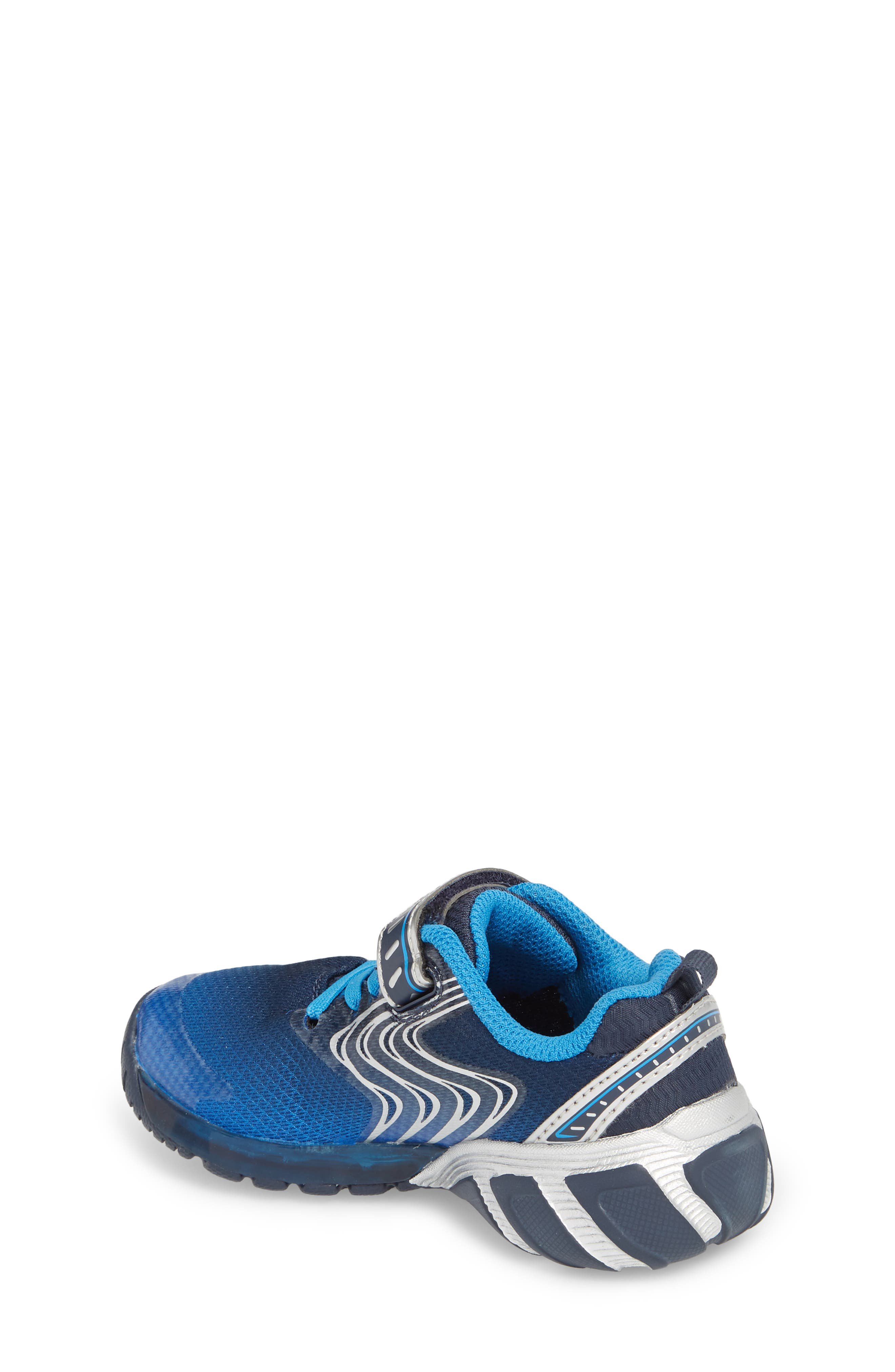Alternate Image 2  - Stride Rite Lights Lux Light-Up Sneaker (Walker &Toddler)