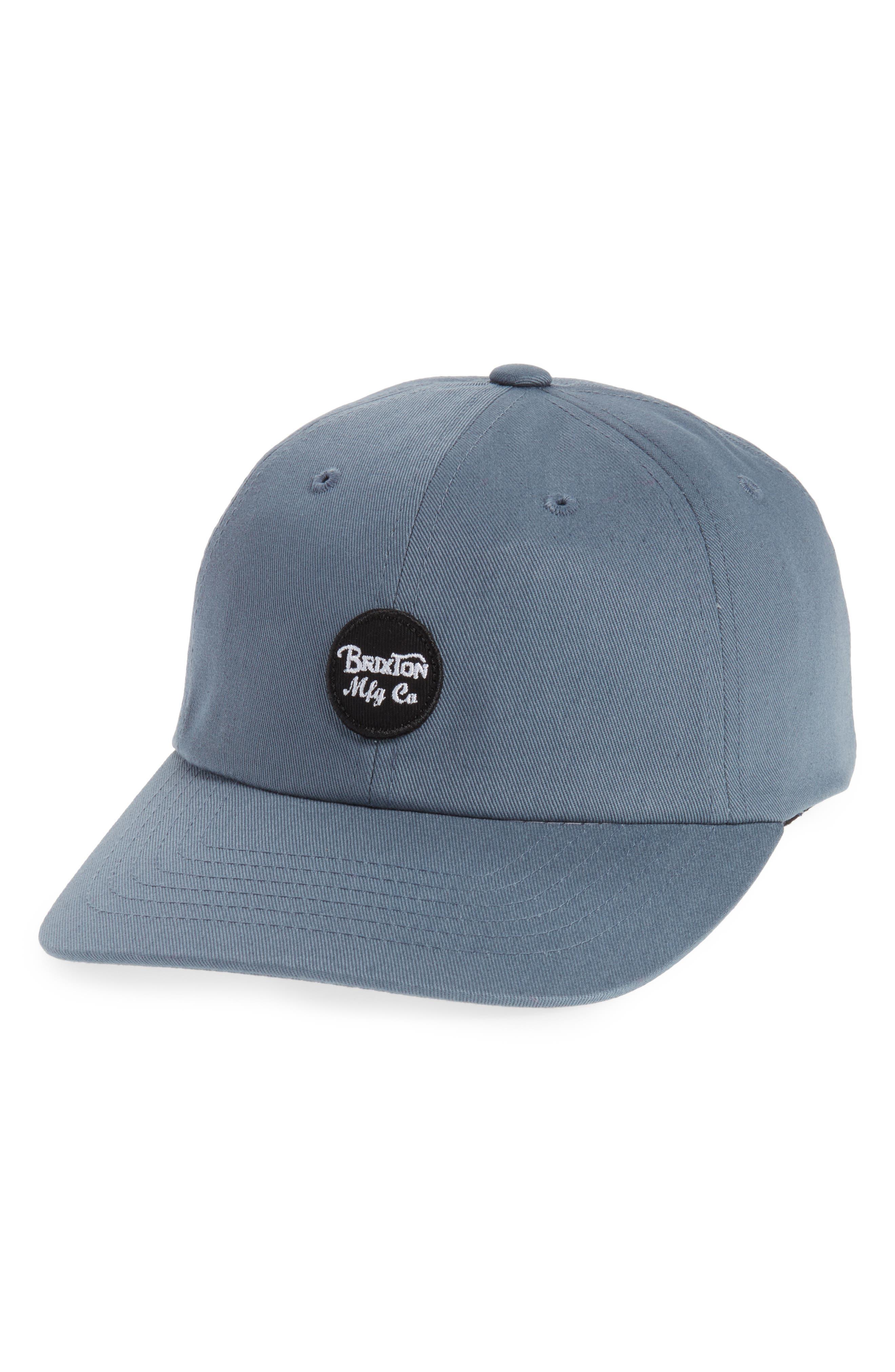 Wheeler Logo Cap,                         Main,                         color, Grey Blue