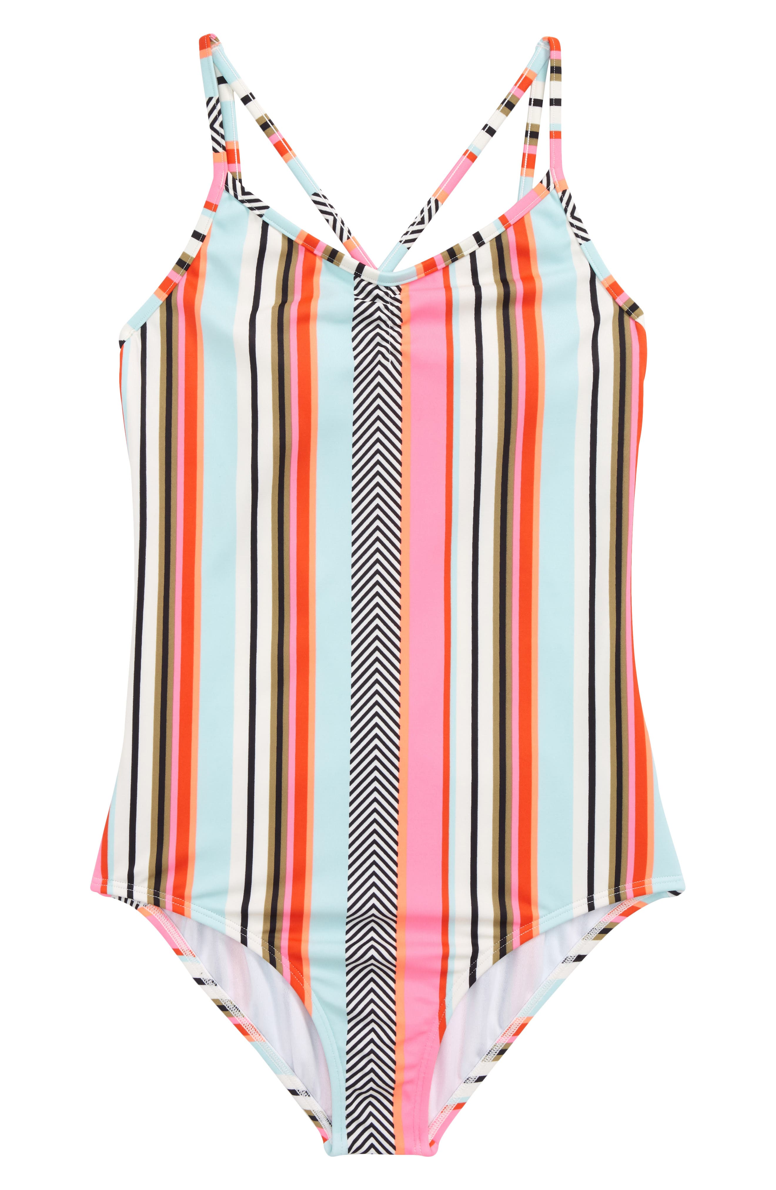 Like That One-Piece Swimsuit,                         Main,                         color, Multi