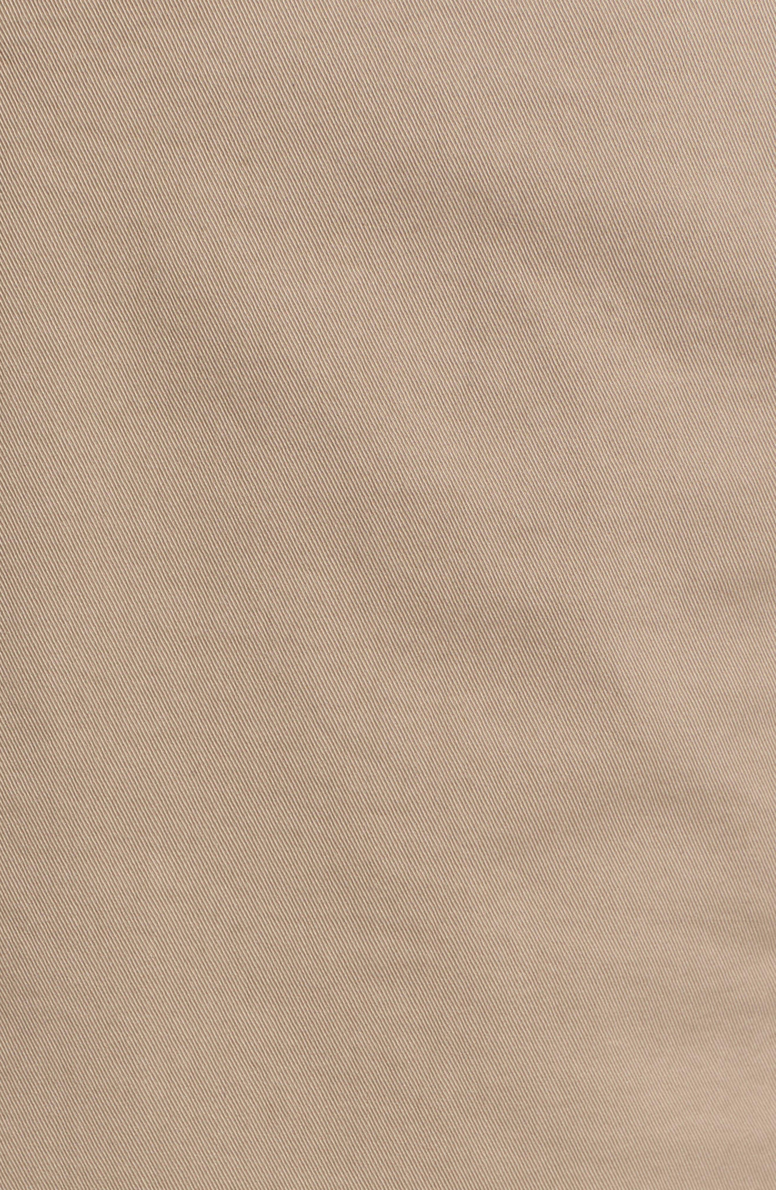 Zaine Stretch Cotton Shorts,                             Alternate thumbnail 5, color,                             Bark