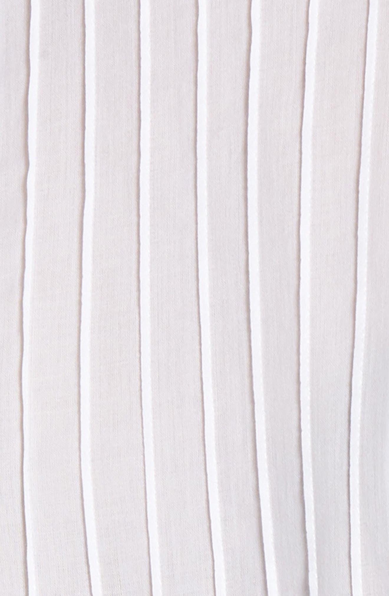 Lace Trim Top,                             Alternate thumbnail 6, color,                             White