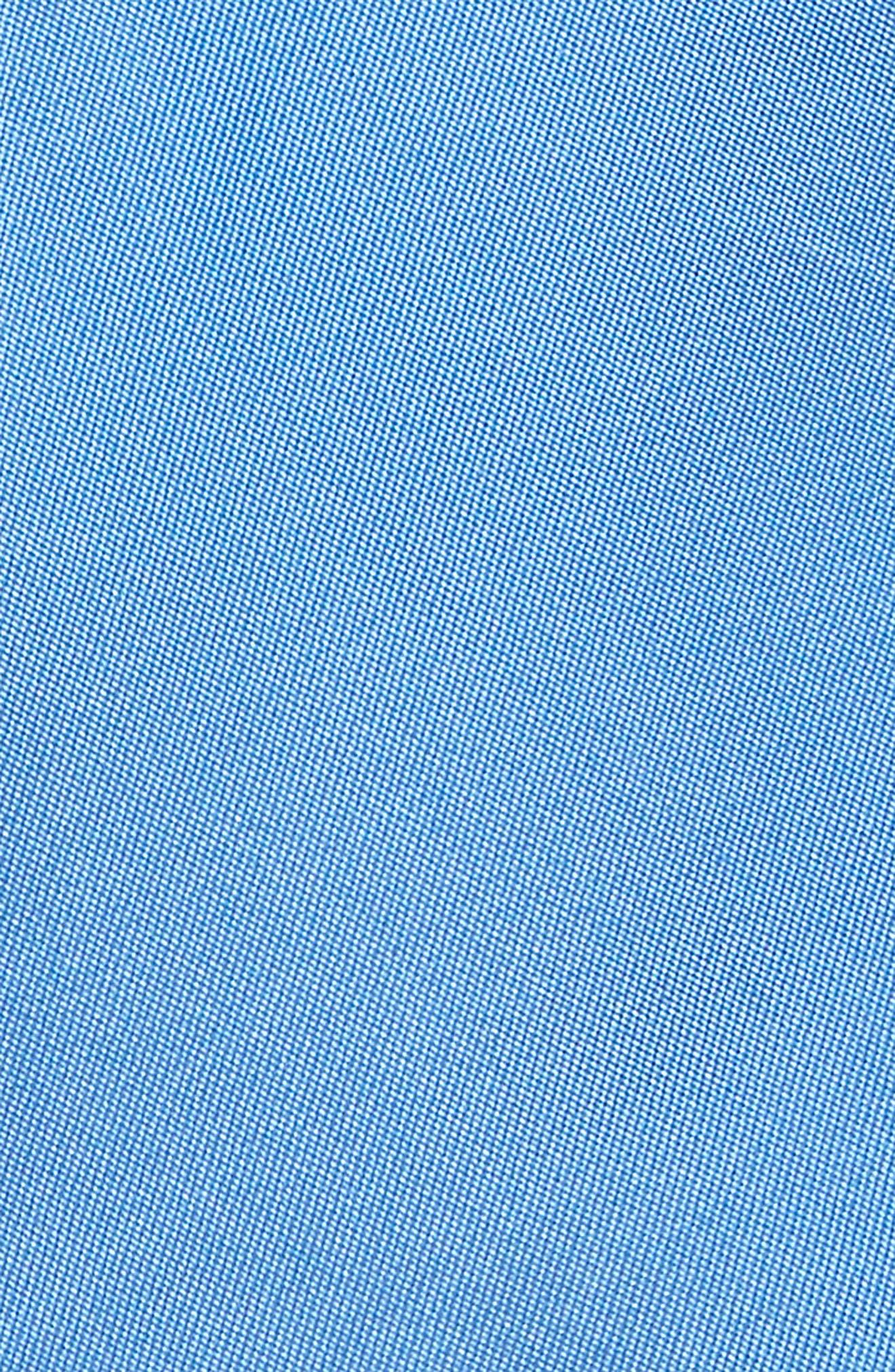 Matte Satin Silk Tie,                             Alternate thumbnail 2, color,                             Blue