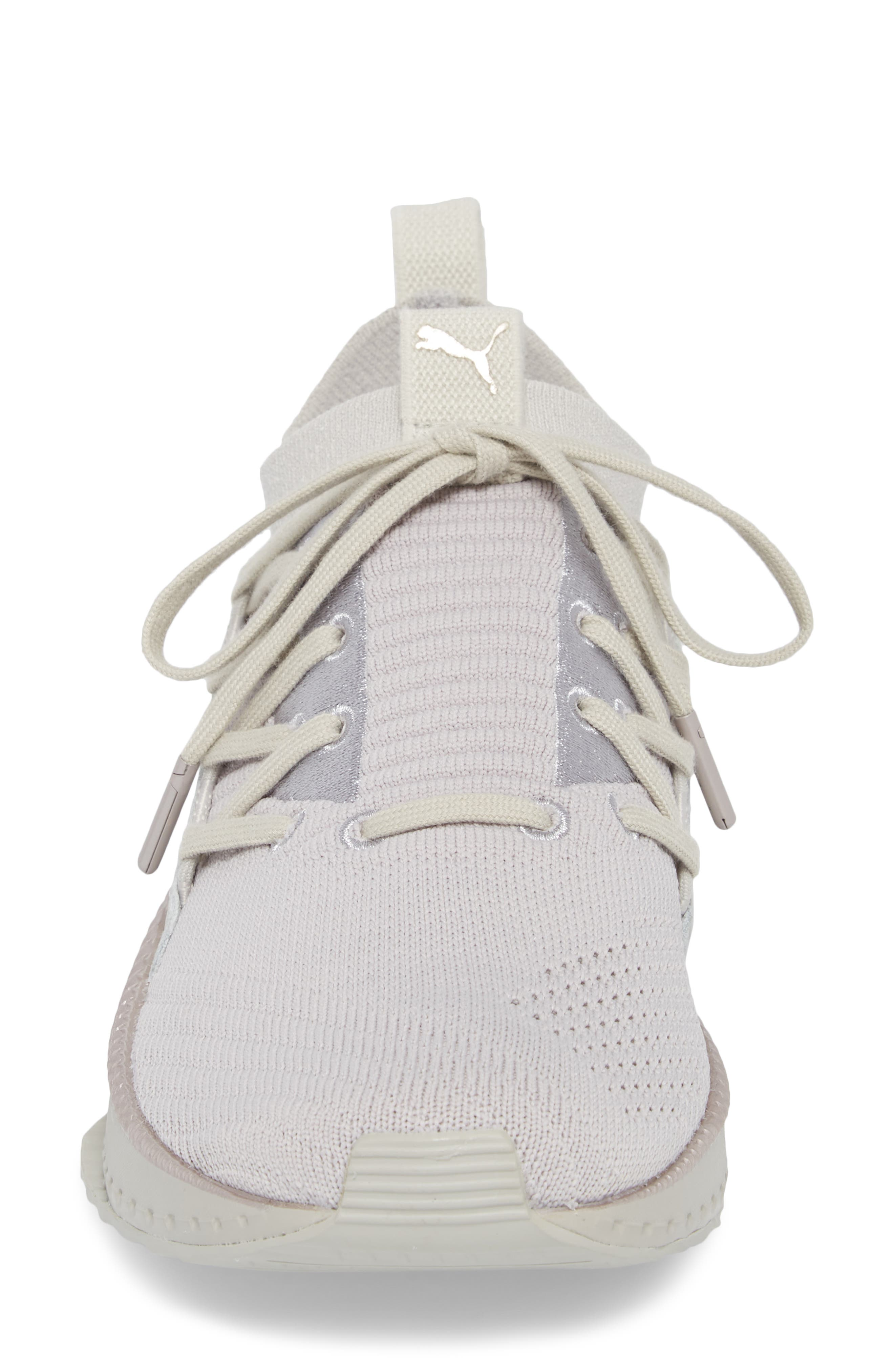 Tsugi Jun Training Shoe,                             Alternate thumbnail 4, color,                             Gray Violet/ Metallic Beige