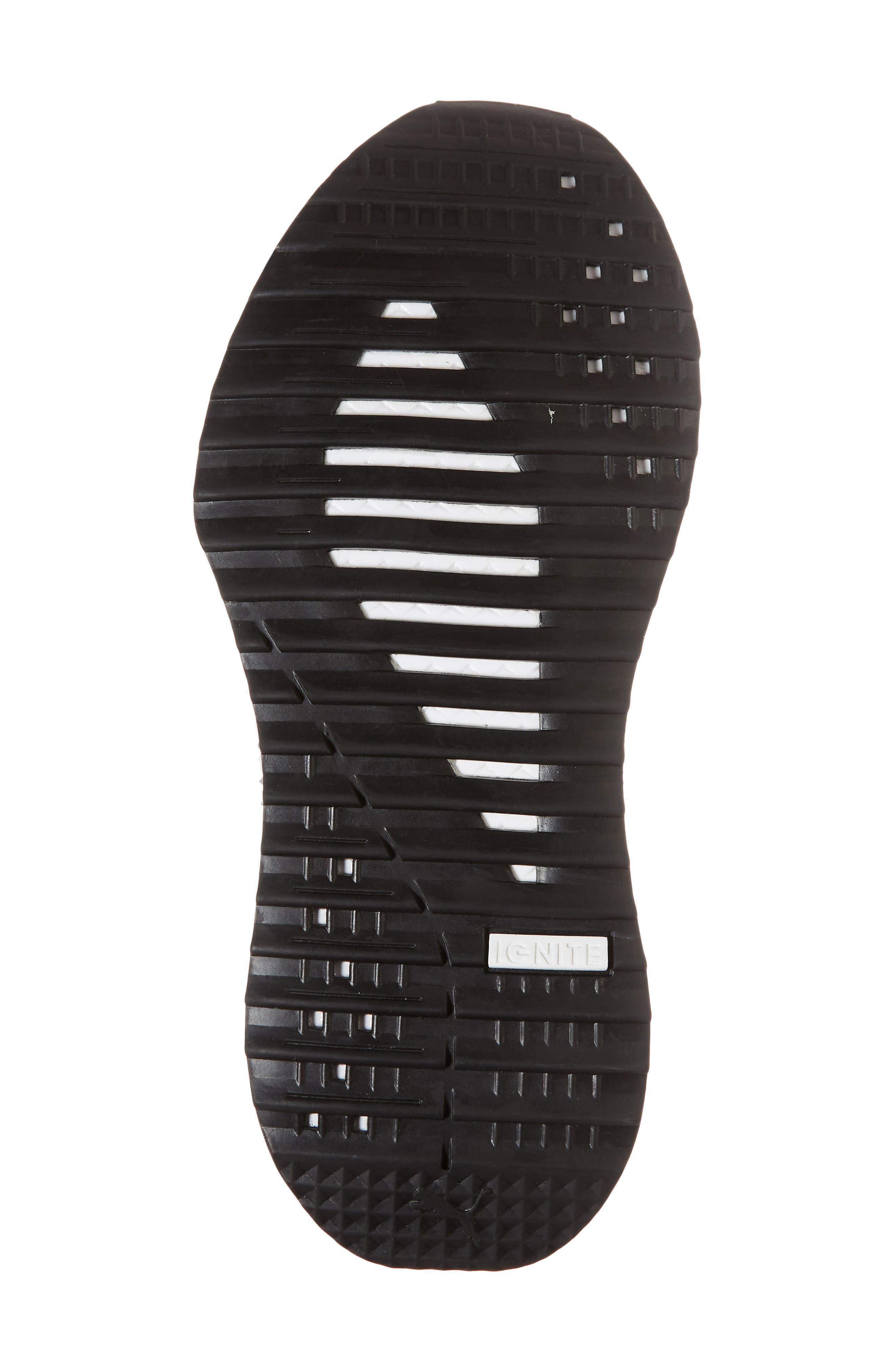 Tsugi Netfit evoKNIT Training Shoe,                             Alternate thumbnail 3, color,                             White/ Black