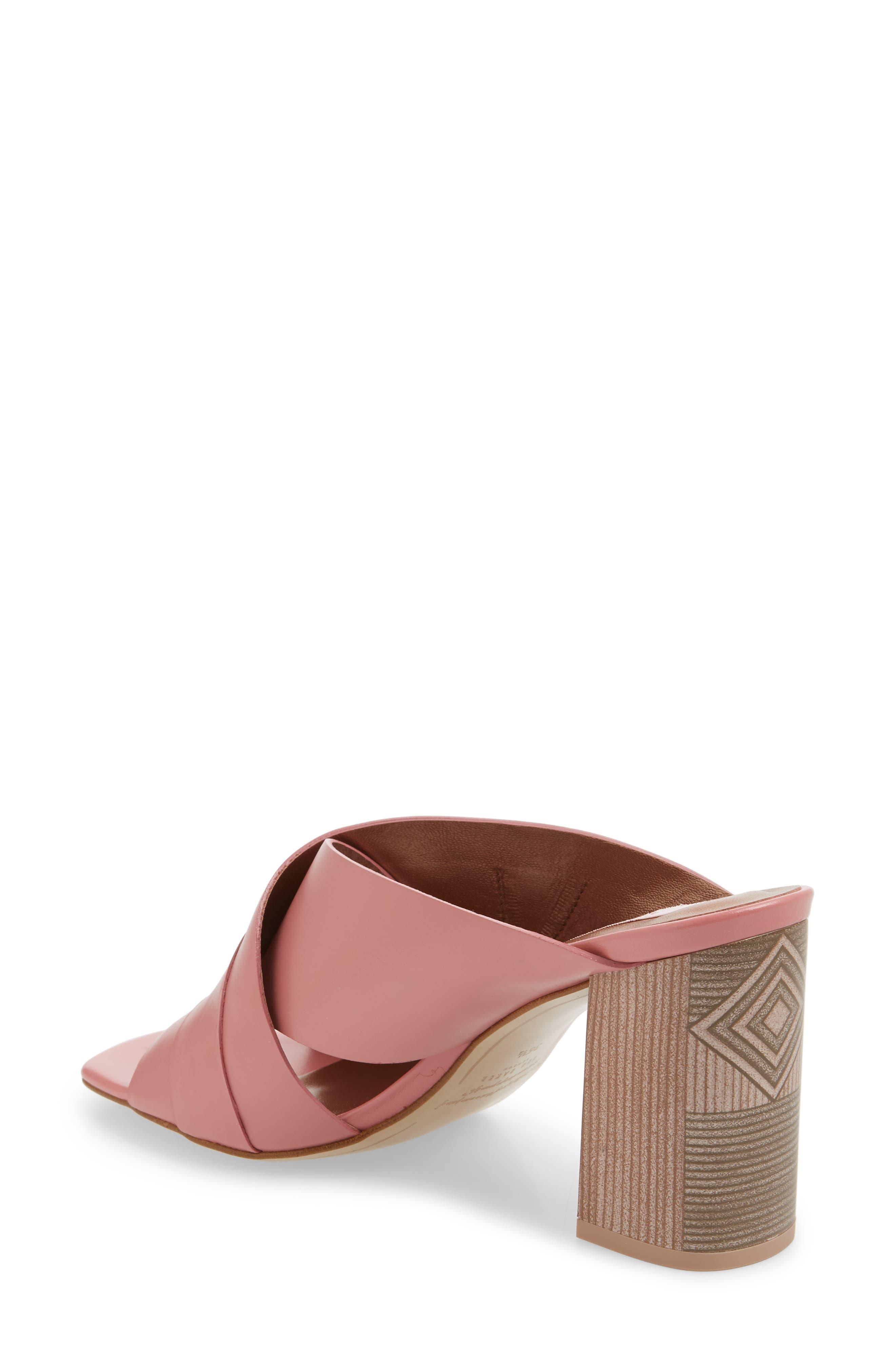 Malada Slide Sandal,                             Alternate thumbnail 2, color,                             Pink Leather