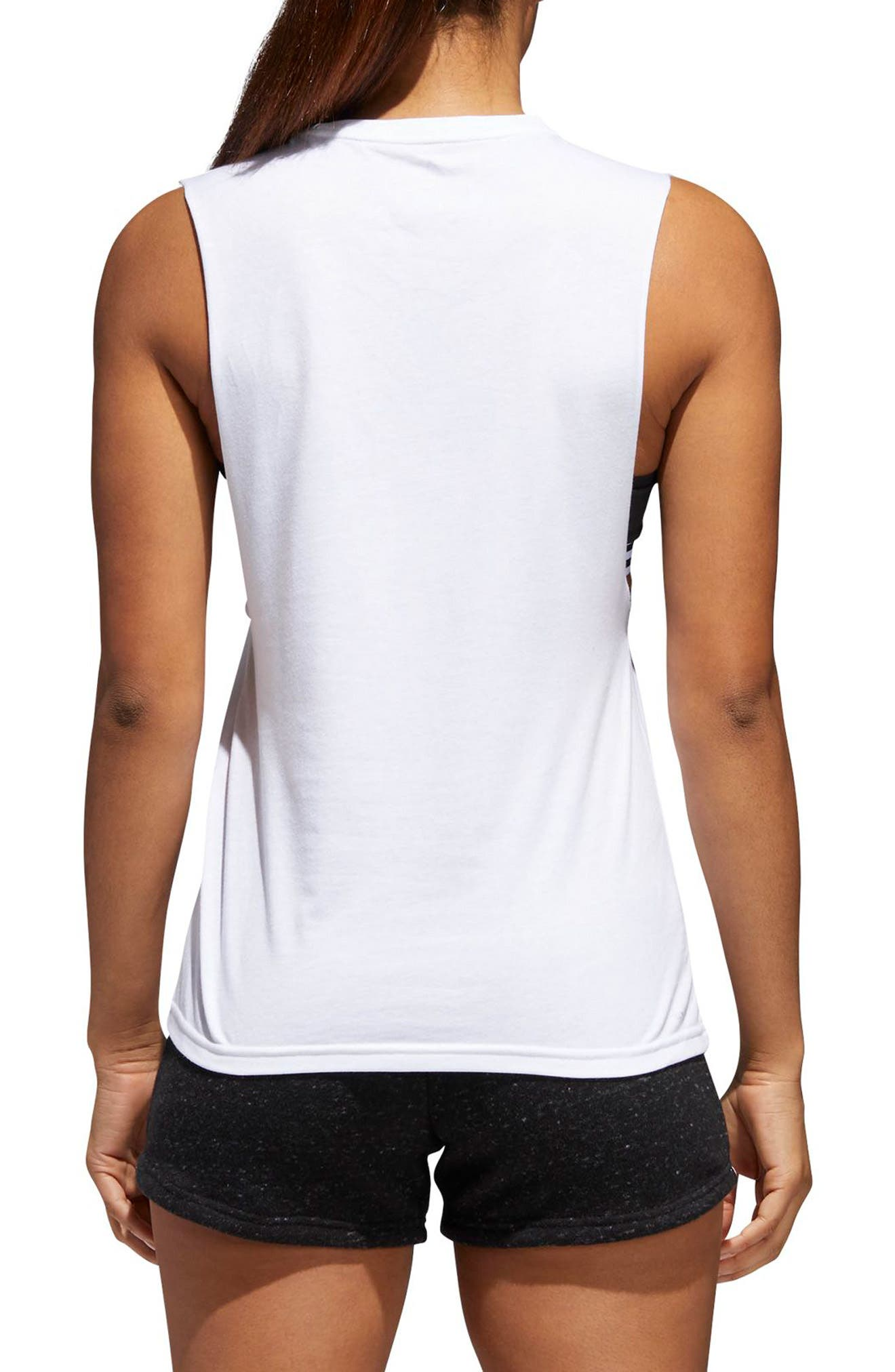 Iridescent Tank,                             Alternate thumbnail 2, color,                             White/ Multicolor