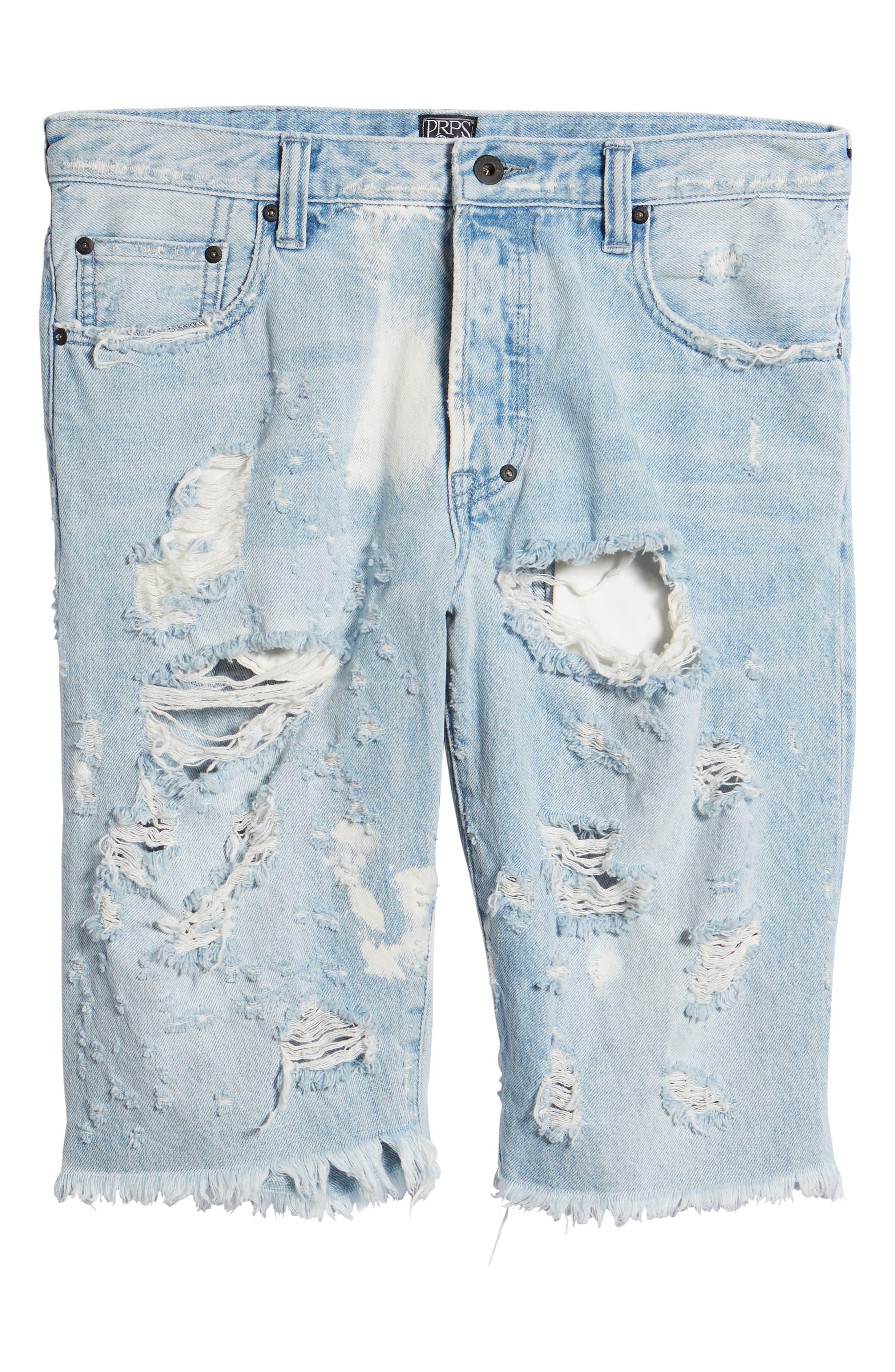Alternate Image 6  - PRPS Challenger Regular Fit Shorts (Ultra)