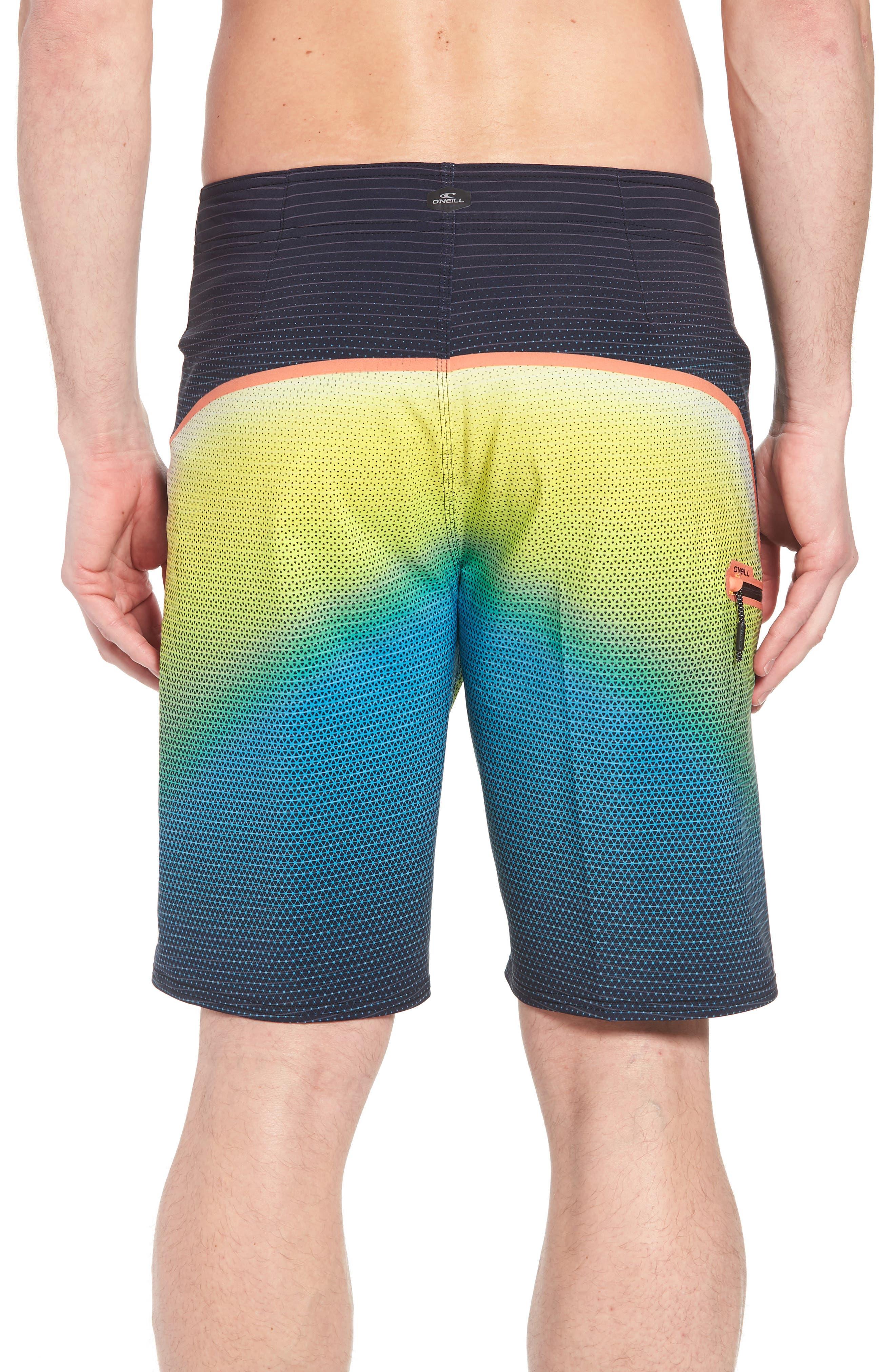 Hyperfreak Prizma Board Shorts,                             Alternate thumbnail 2, color,                             Ocean
