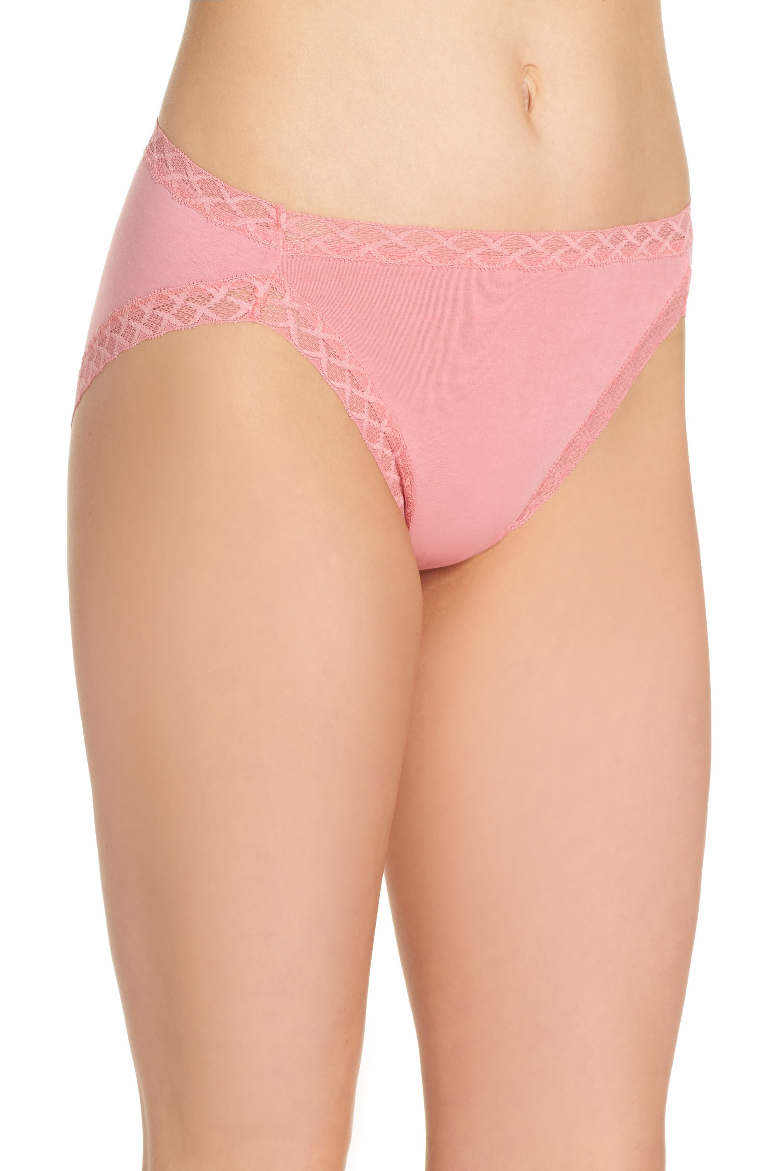 Alternate Image 3  - Natori Bliss French Cut Briefs (3 for $45)