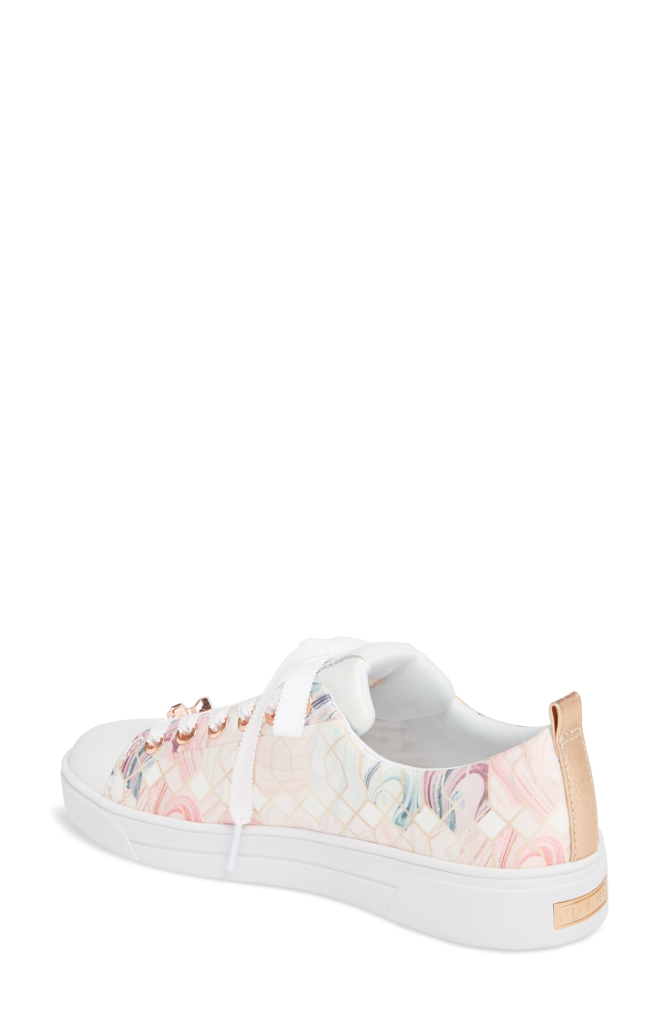 Ahfira Sneaker,                             Alternate thumbnail 2, color,                             Sea Of Clouds Print Fabric