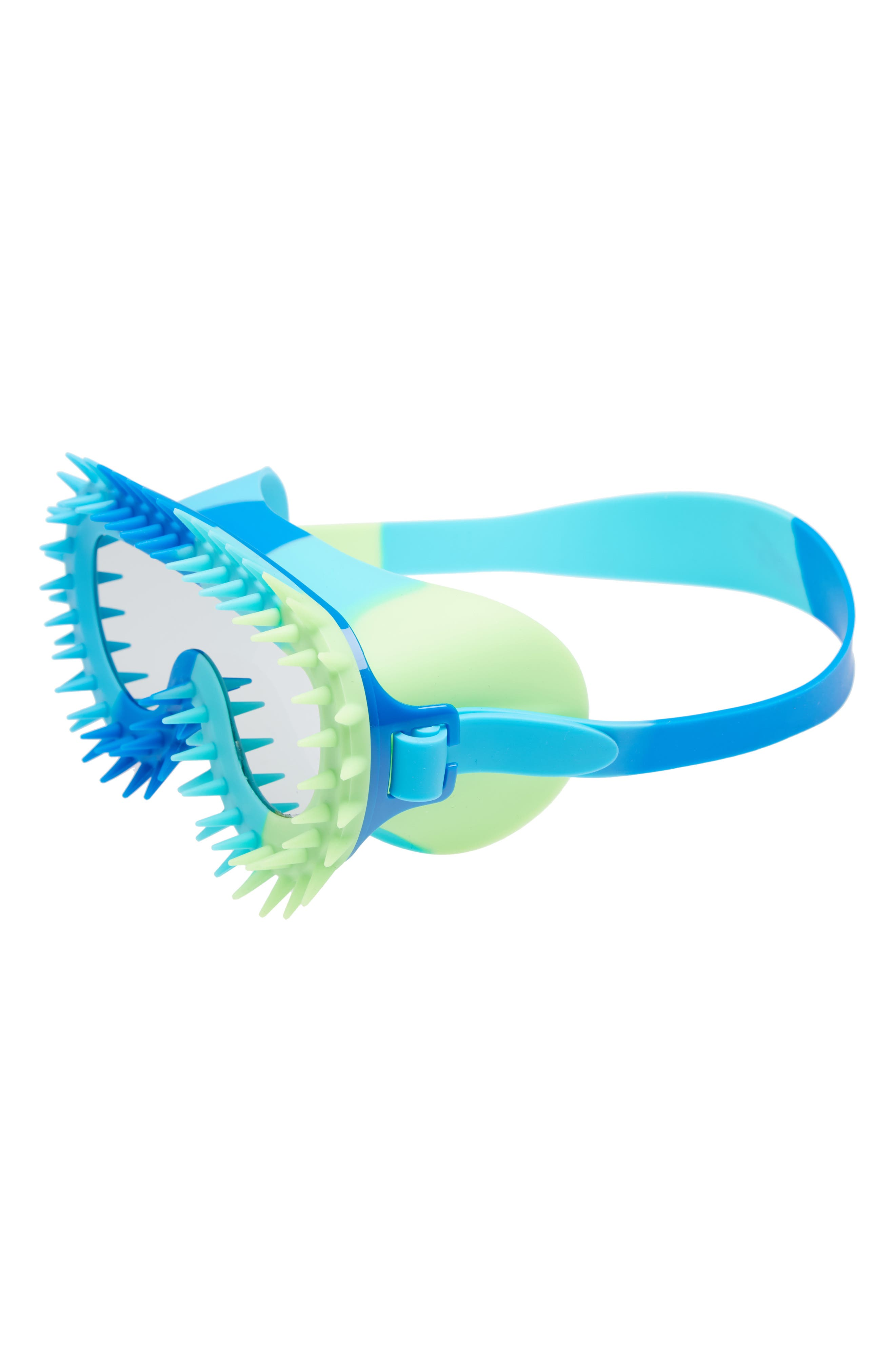 Monster Swim Mask,                             Main thumbnail 1, color,                             Blue/ Green