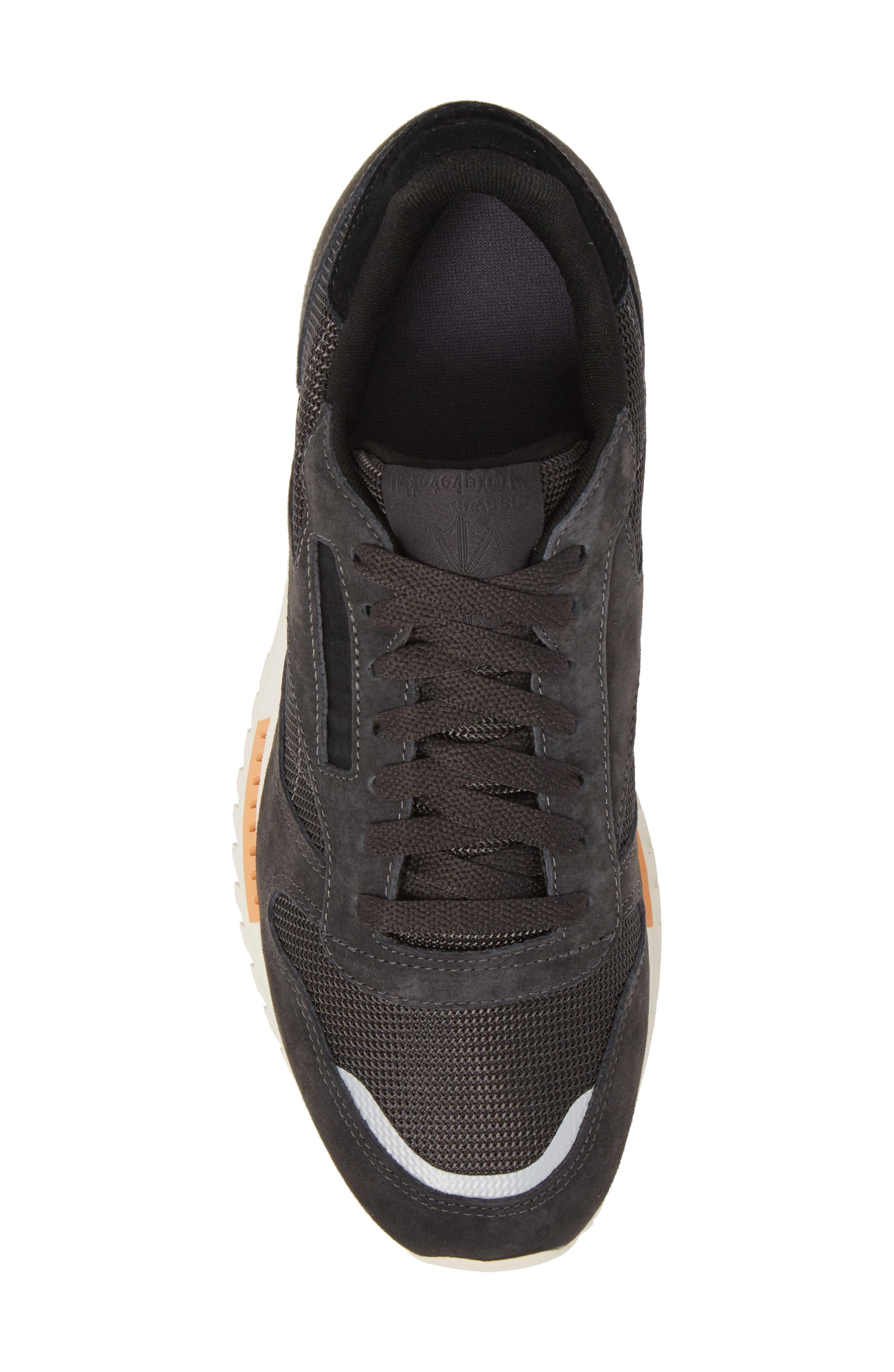 Classic Leather Ripple Sneaker,                             Alternate thumbnail 5, color,                             Coal/ Grey/ White/ Black/ Dust